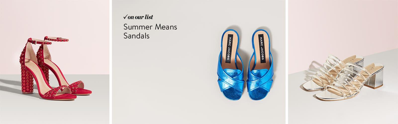 Womenu0027s Summer Sandals.