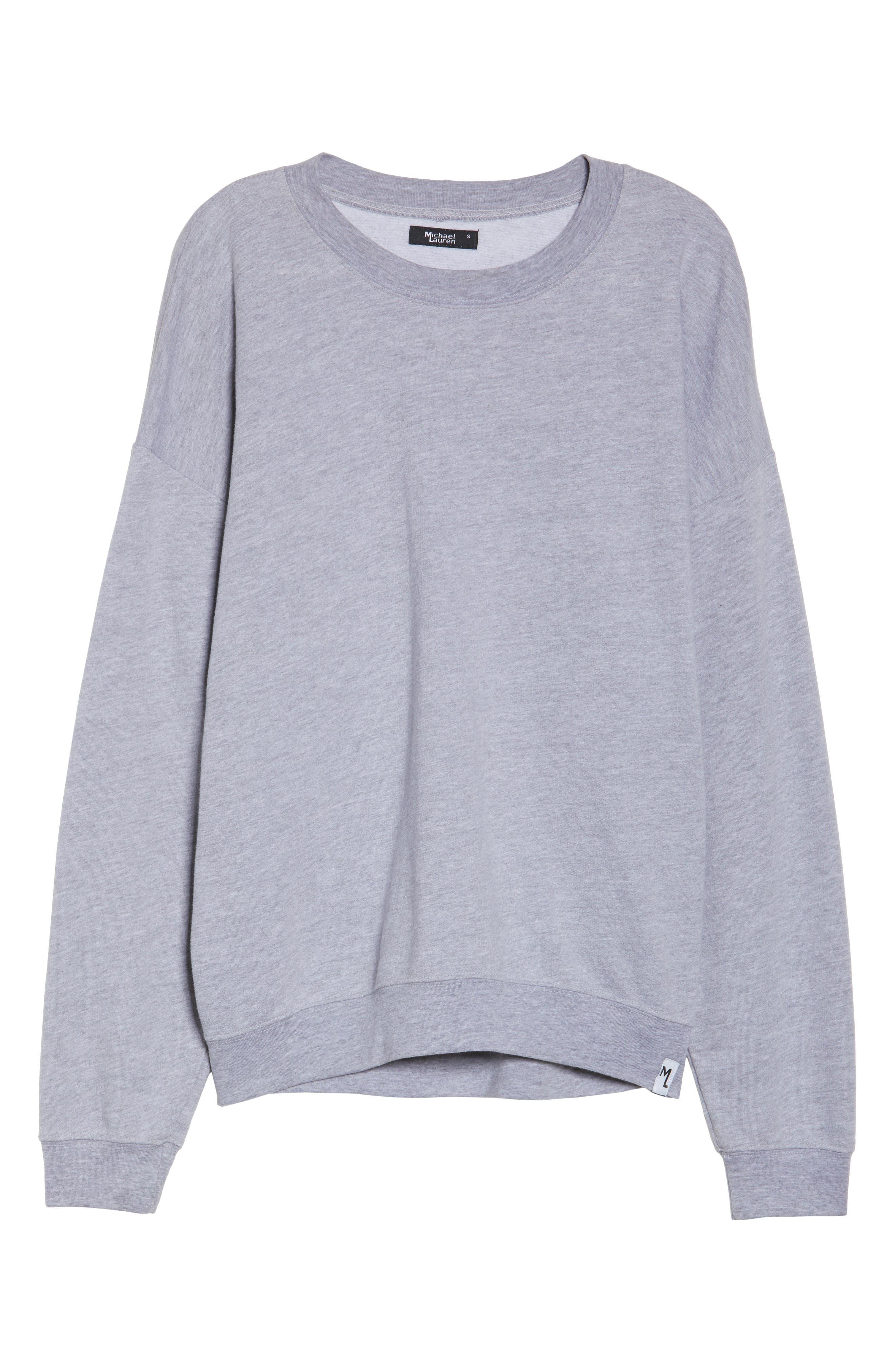 Ellstan Oversize Boyfriend Sweatshirt,                             Alternate thumbnail 6, color,                             035