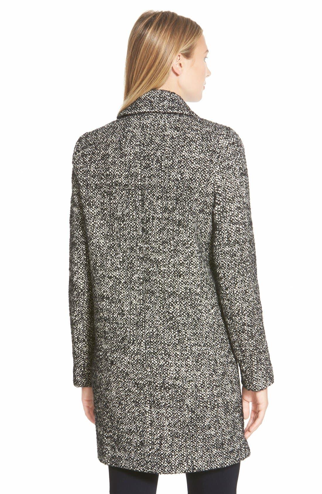 Tweed Walking Coat,                             Alternate thumbnail 4, color,                             081