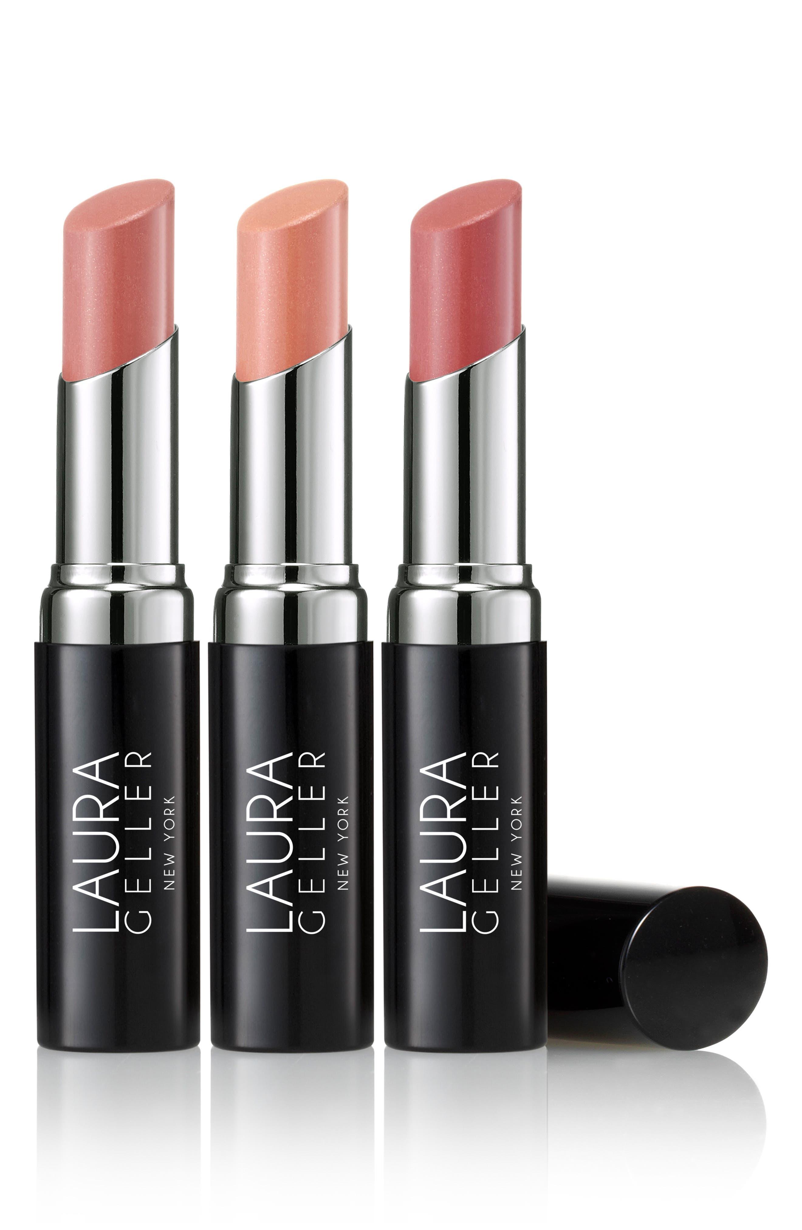 Pucker Up Nudes Lipstick Trio,                         Main,                         color, 250