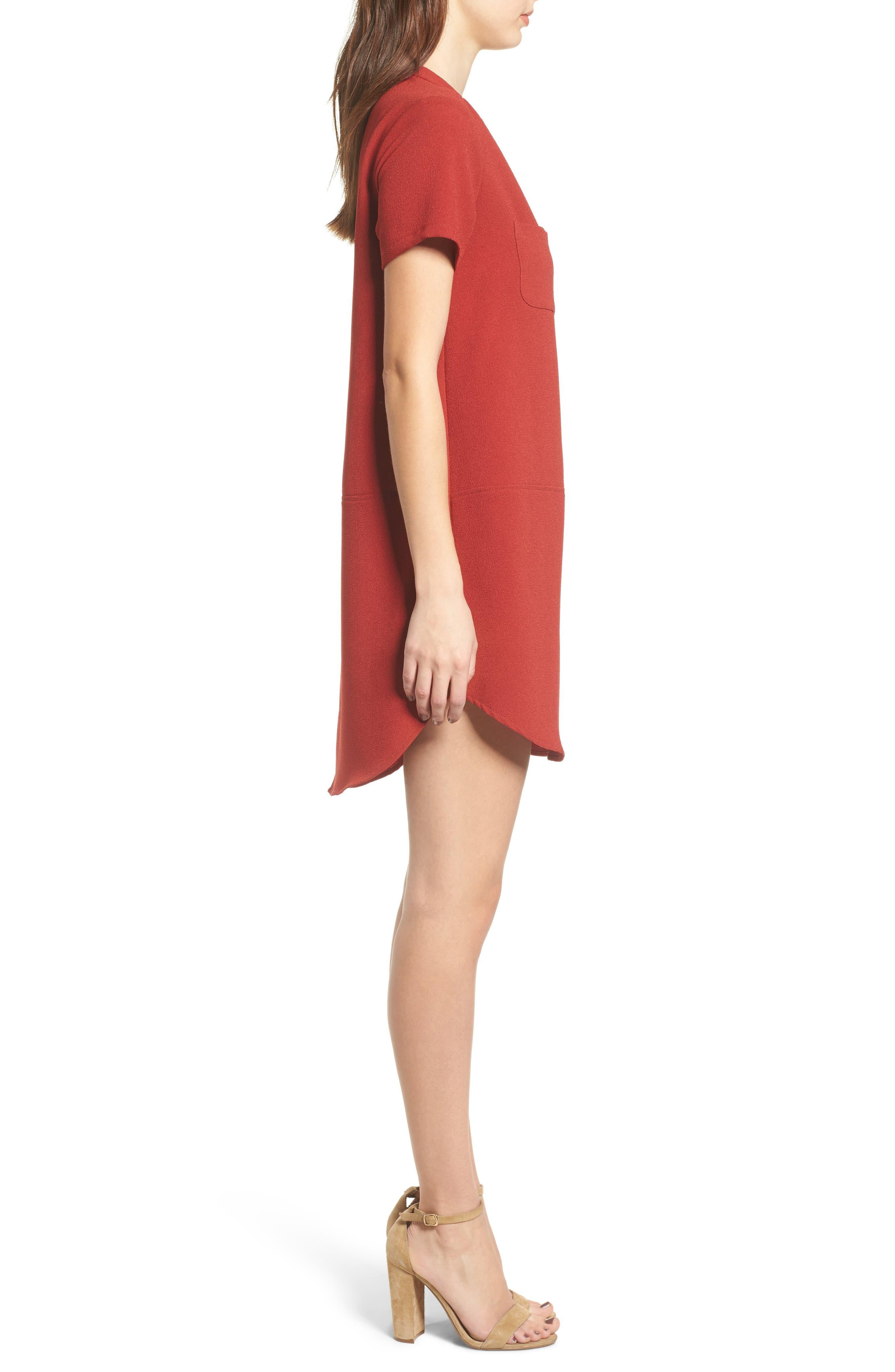 Hailey Crepe Dress,                             Alternate thumbnail 74, color,