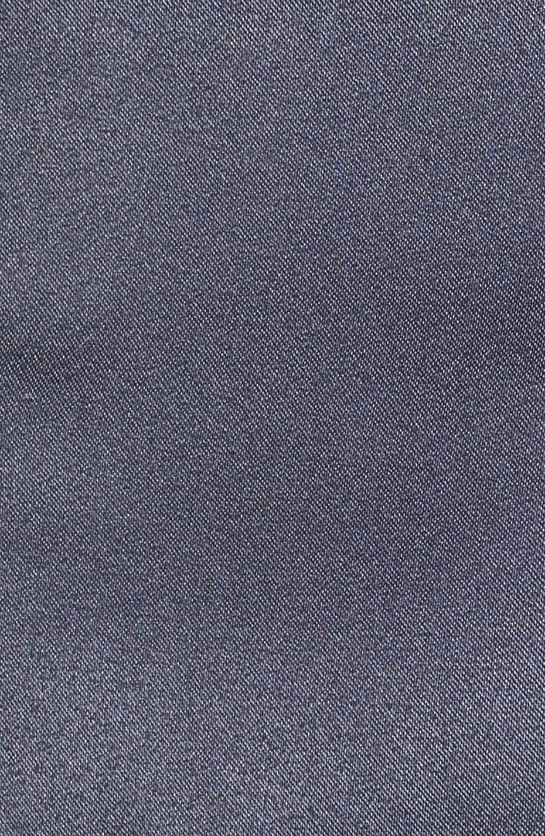 High Waist Satin Shorts,                             Alternate thumbnail 3, color,                             410