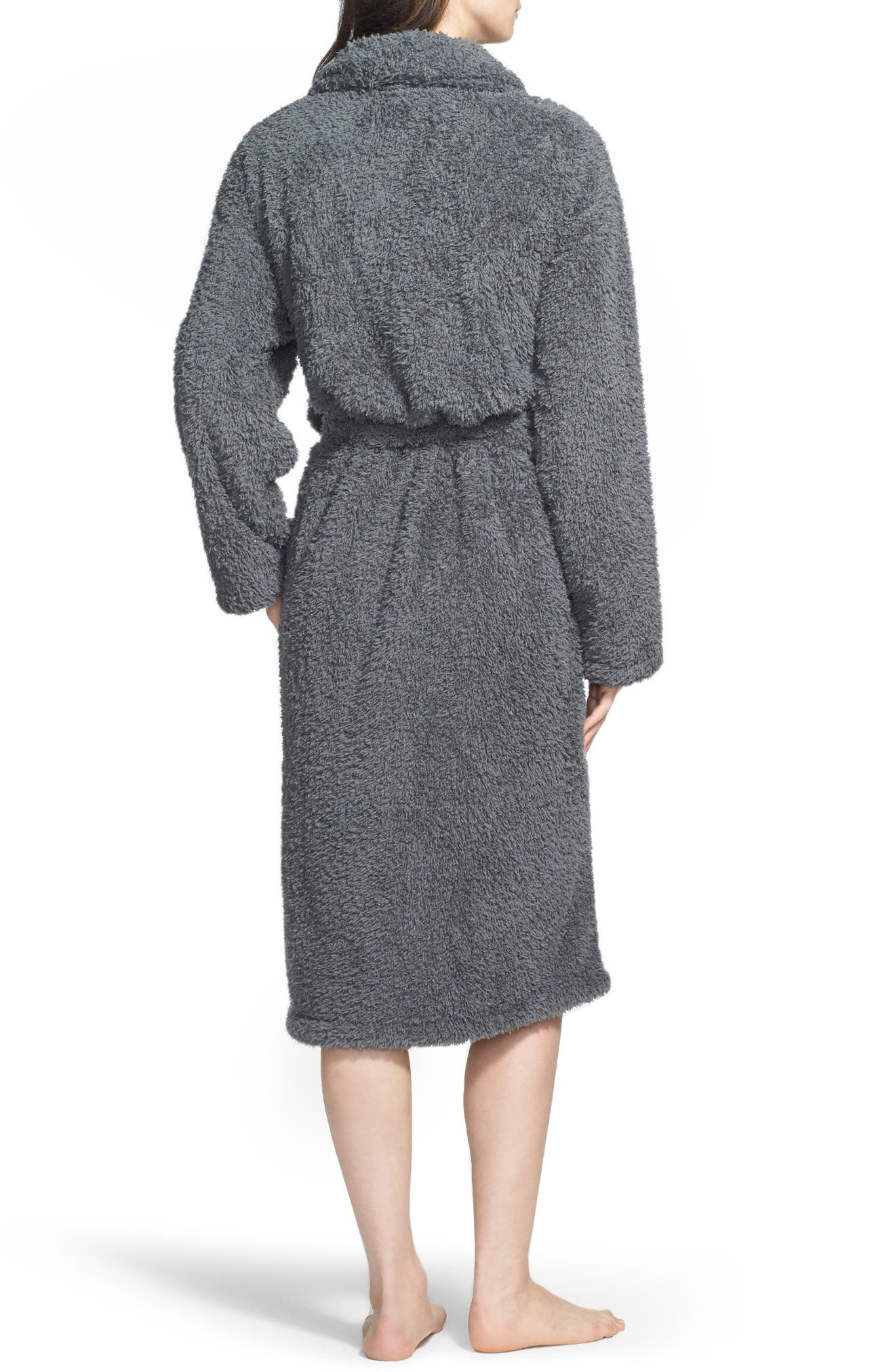 Chenille Robe,                             Main thumbnail 1, color,                             CHARCOAL