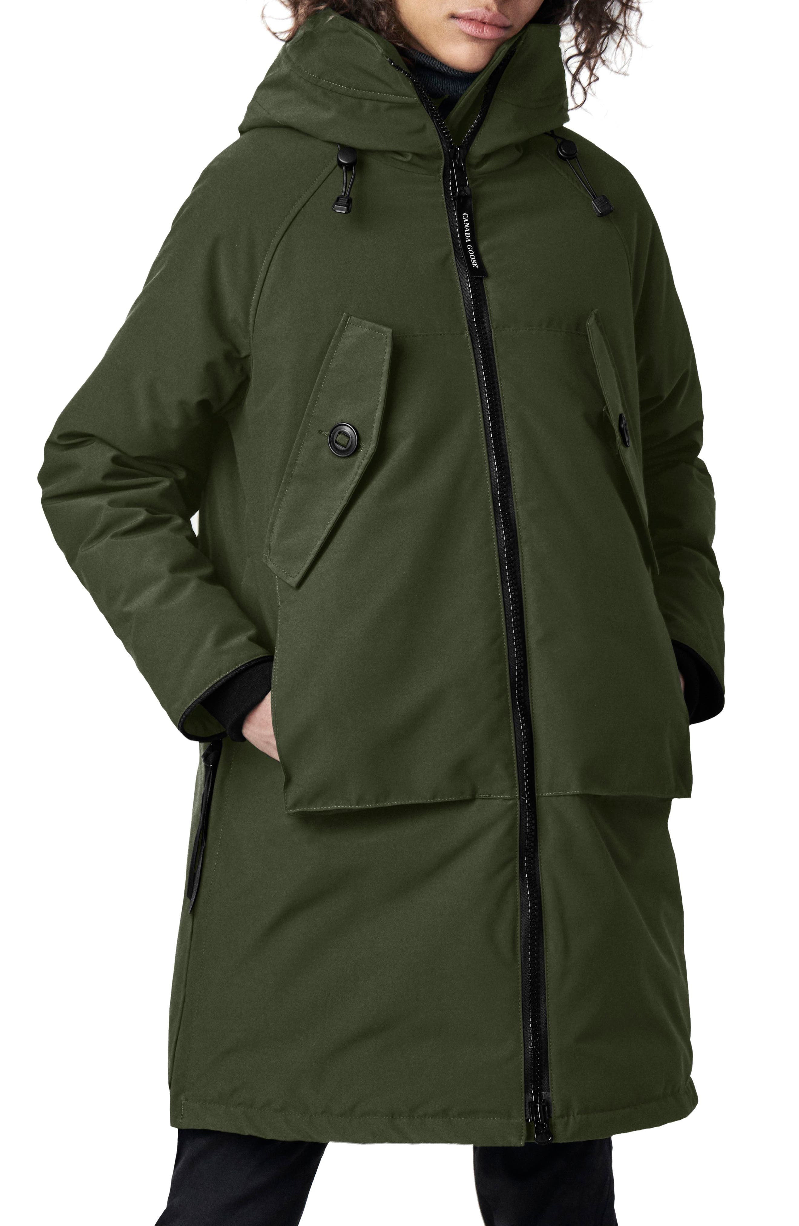 Canada Goose Olympia Down Parka, (2-4) - Green