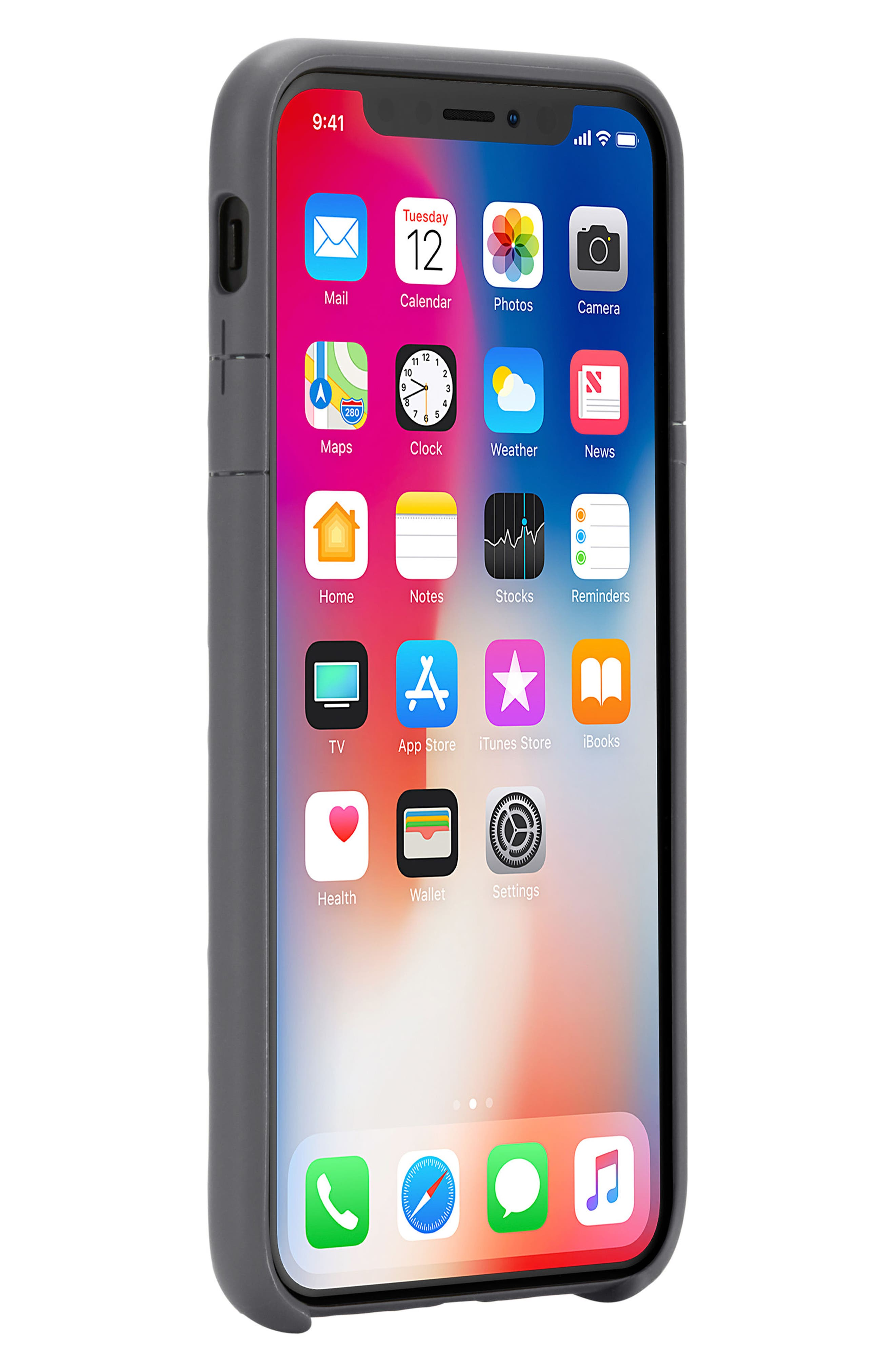 Lite iPhone iPhone X & Xs Case,                             Alternate thumbnail 8, color,