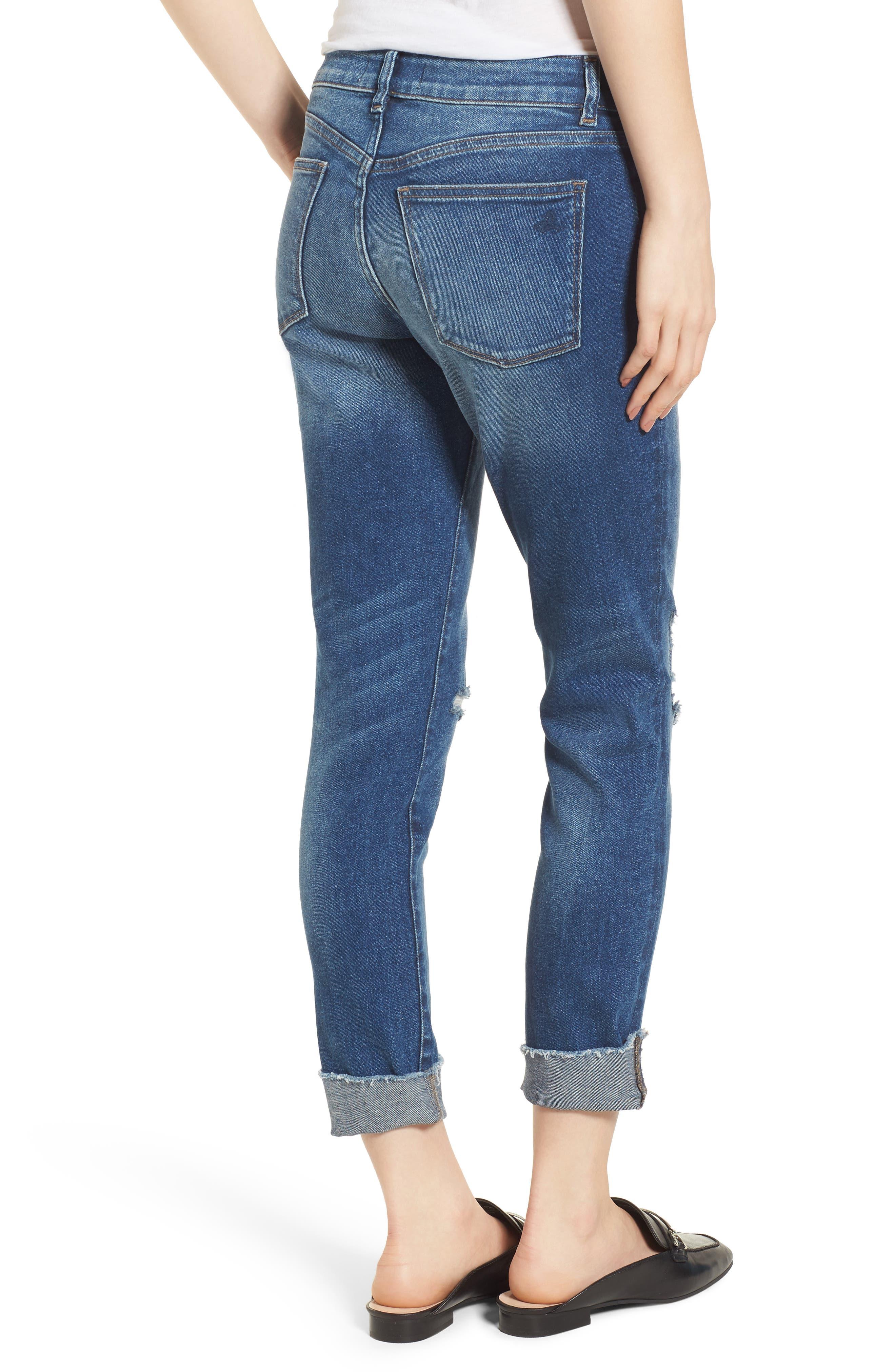 Florence Instasculpt Crop Skinny Jeans,                             Alternate thumbnail 2, color,                             400
