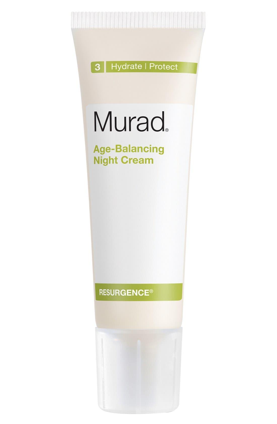 Age-Balancing Night Cream,                         Main,                         color, NO COLOR