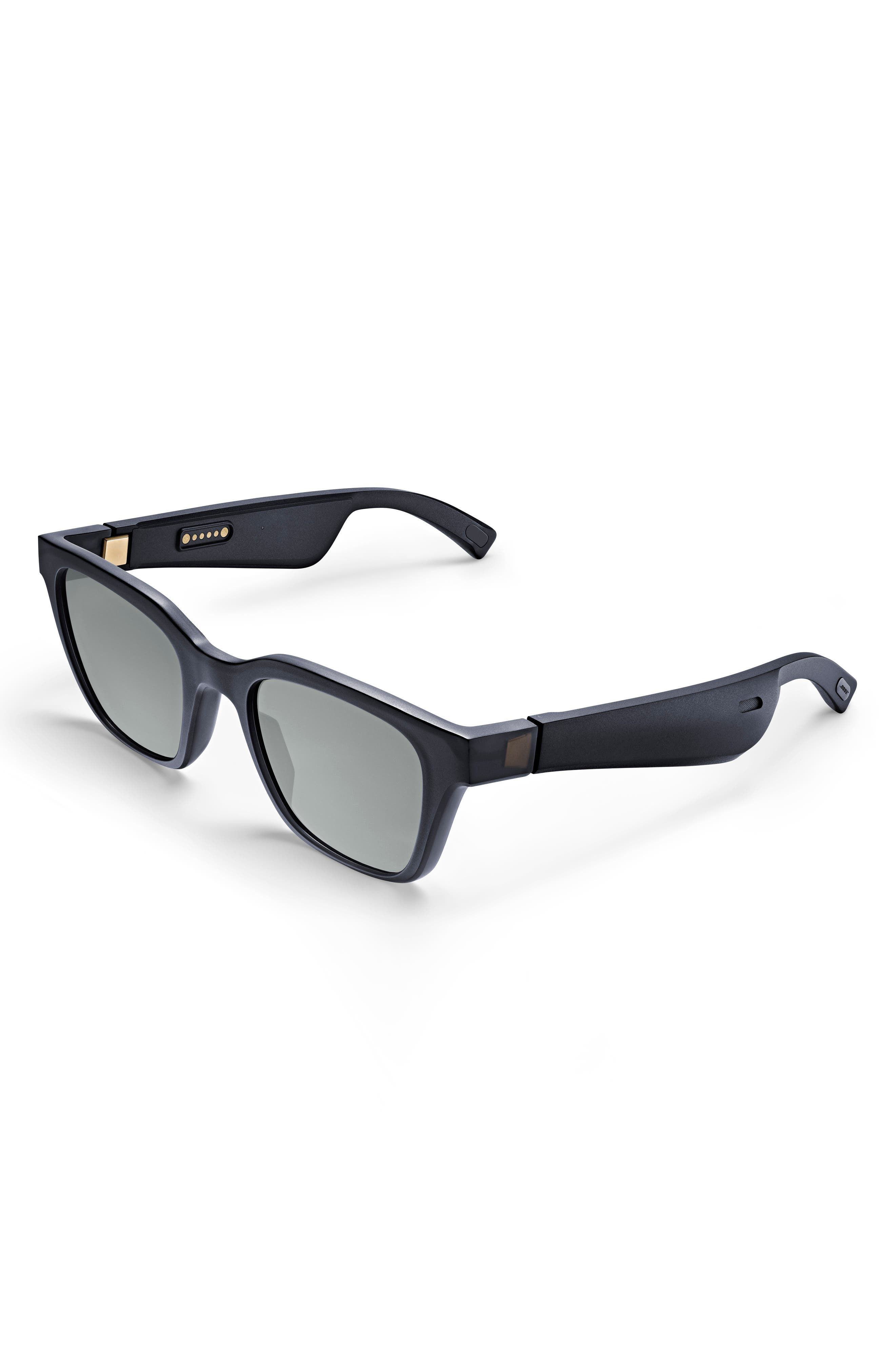 BOSE<SUP>®</SUP>,                             Frames Alto 52mm Audio Sunglasses,                             Main thumbnail 1, color,                             BLACK