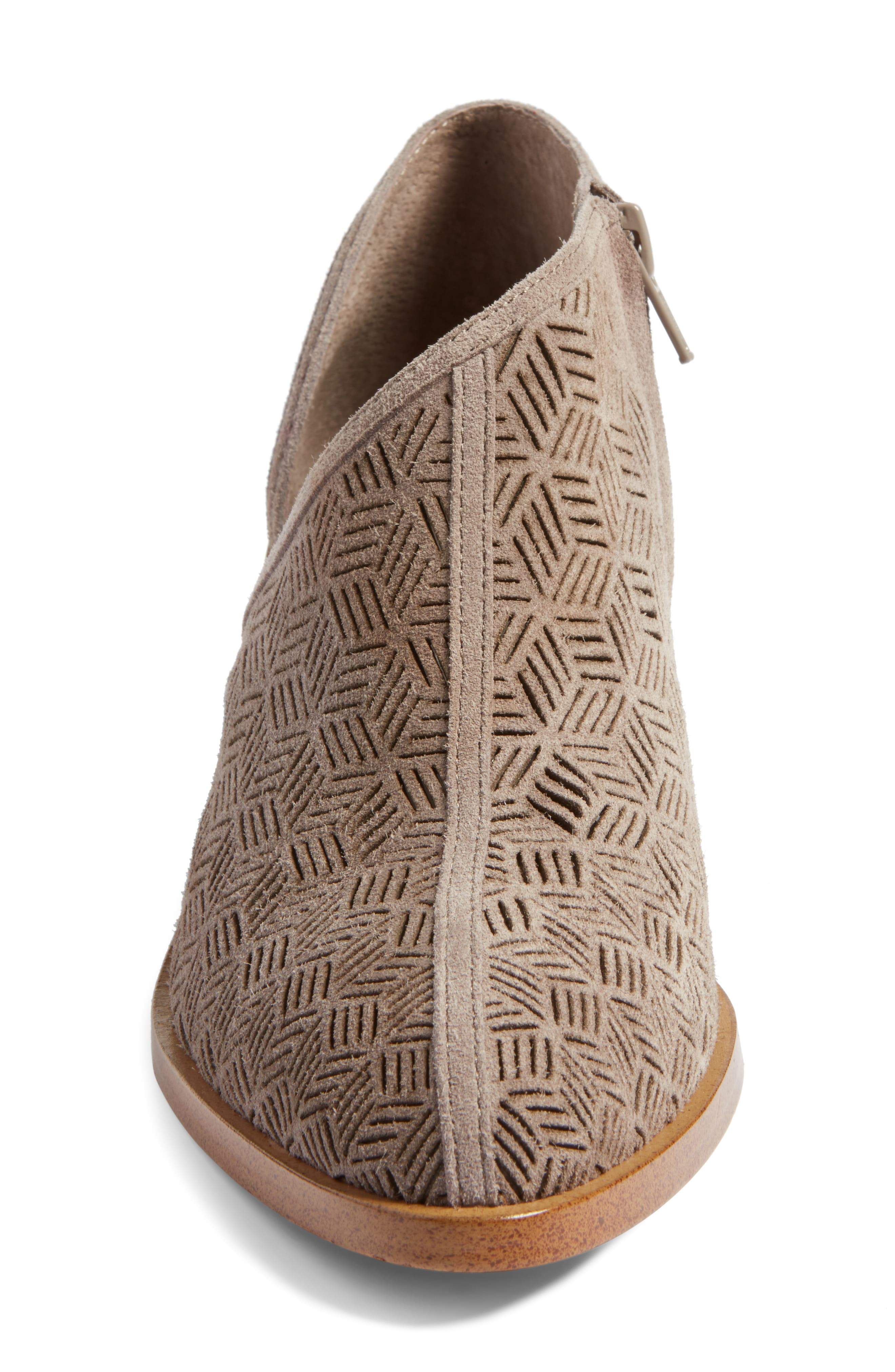 Iddah Perforated Cutaway Bootie,                             Alternate thumbnail 21, color,