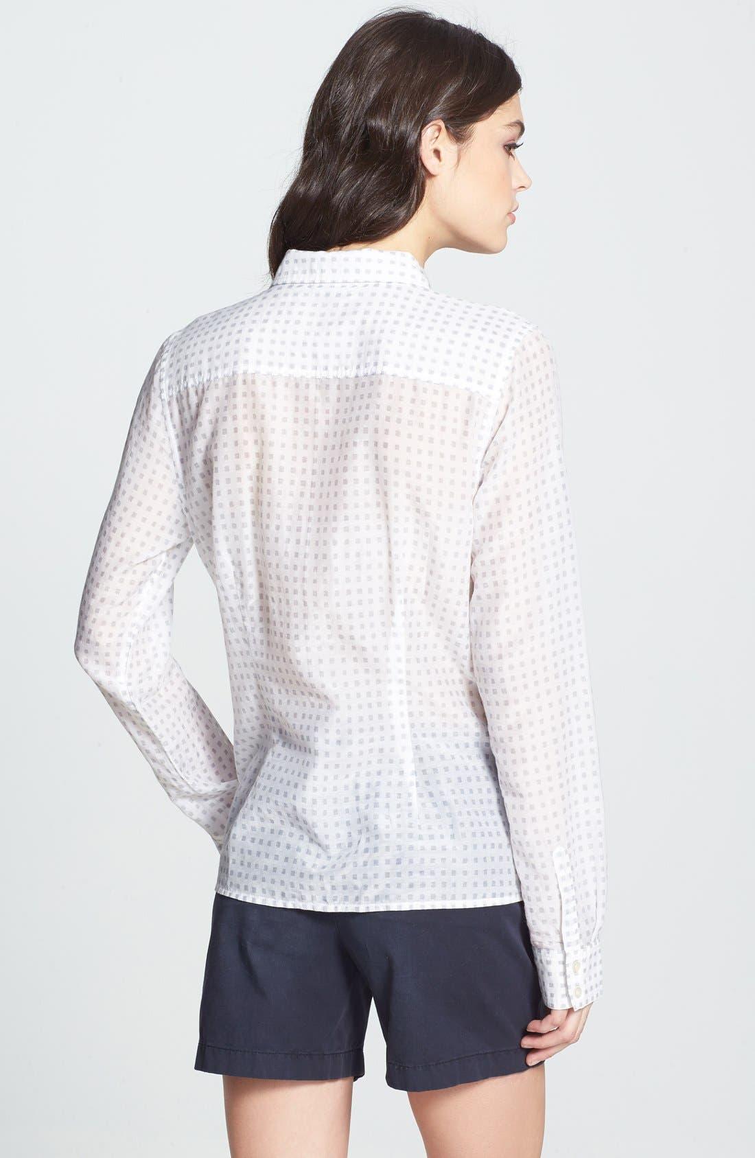 Cotton & Silk Shirt,                             Alternate thumbnail 104, color,