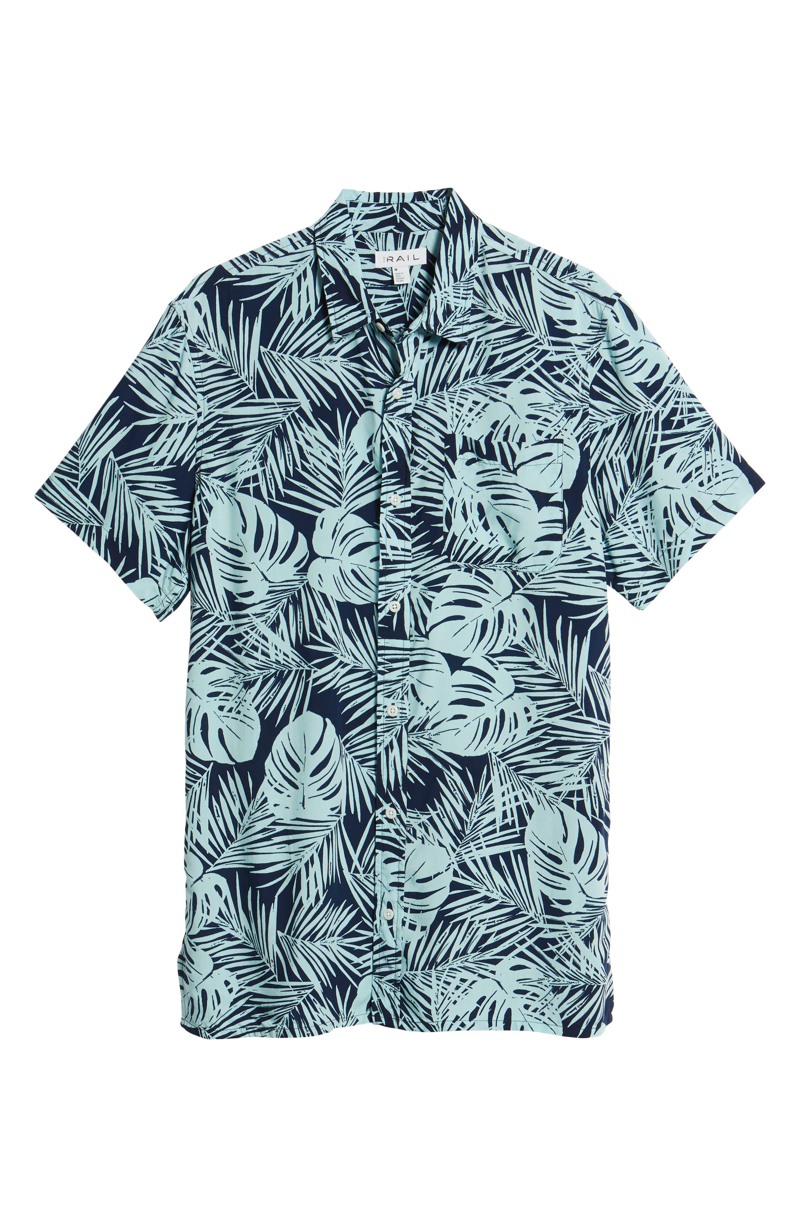 Print Woven Shirt,                             Alternate thumbnail 17, color,