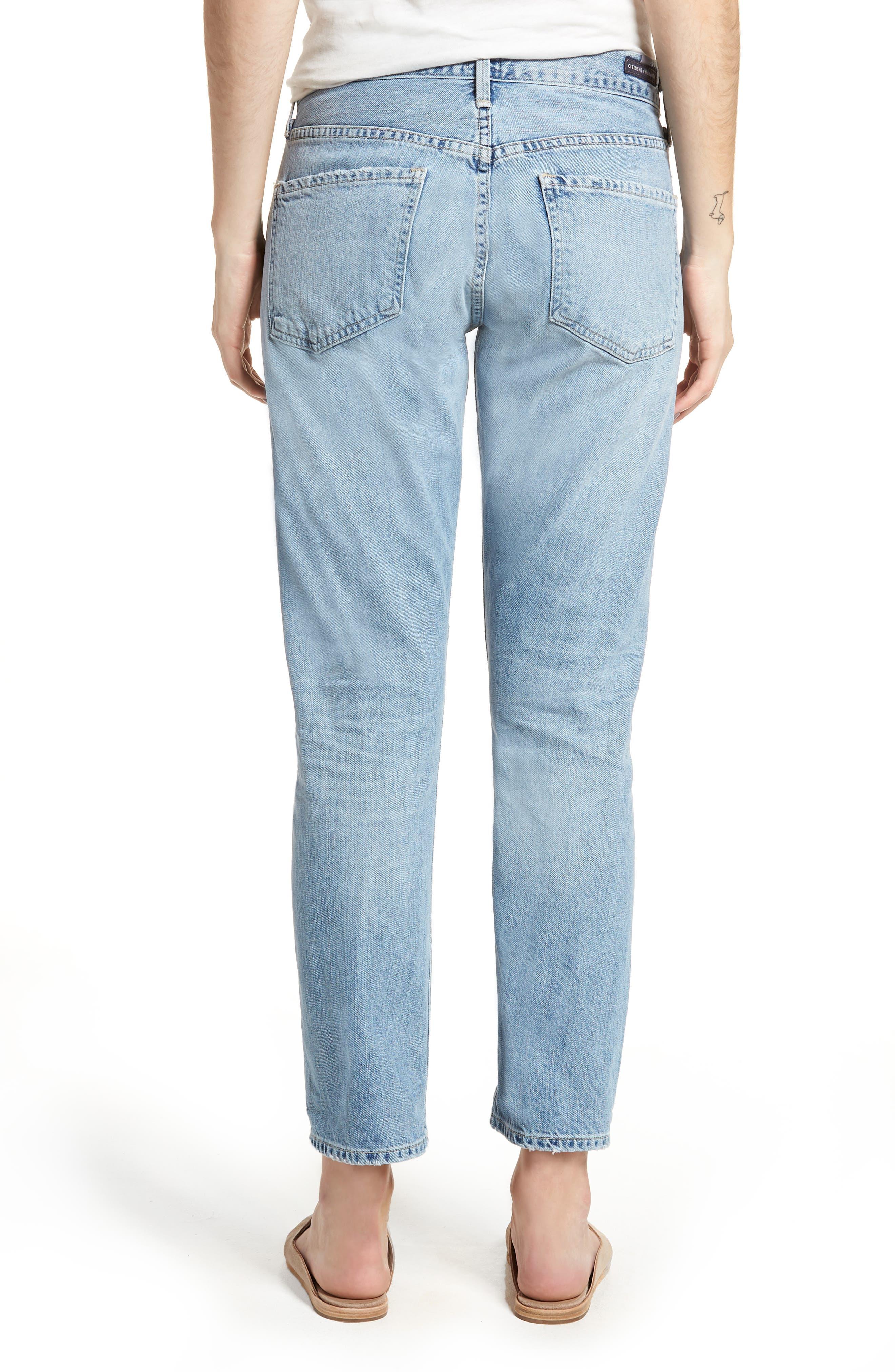 Emerson Slim Fit Boyfriend Jeans,                             Alternate thumbnail 2, color,                             SUNDAY MORNING