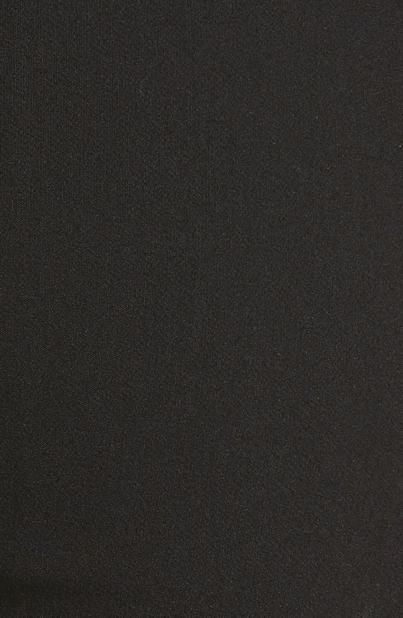 Crop Leggings,                             Alternate thumbnail 6, color,                             BLACK
