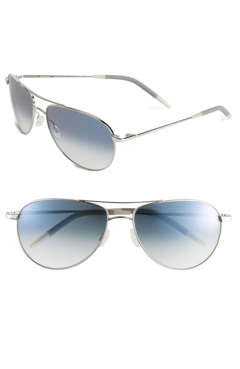 7f7fdfd1305 Oliver Peoples  Benedict  59mm Aviator Sunglasses