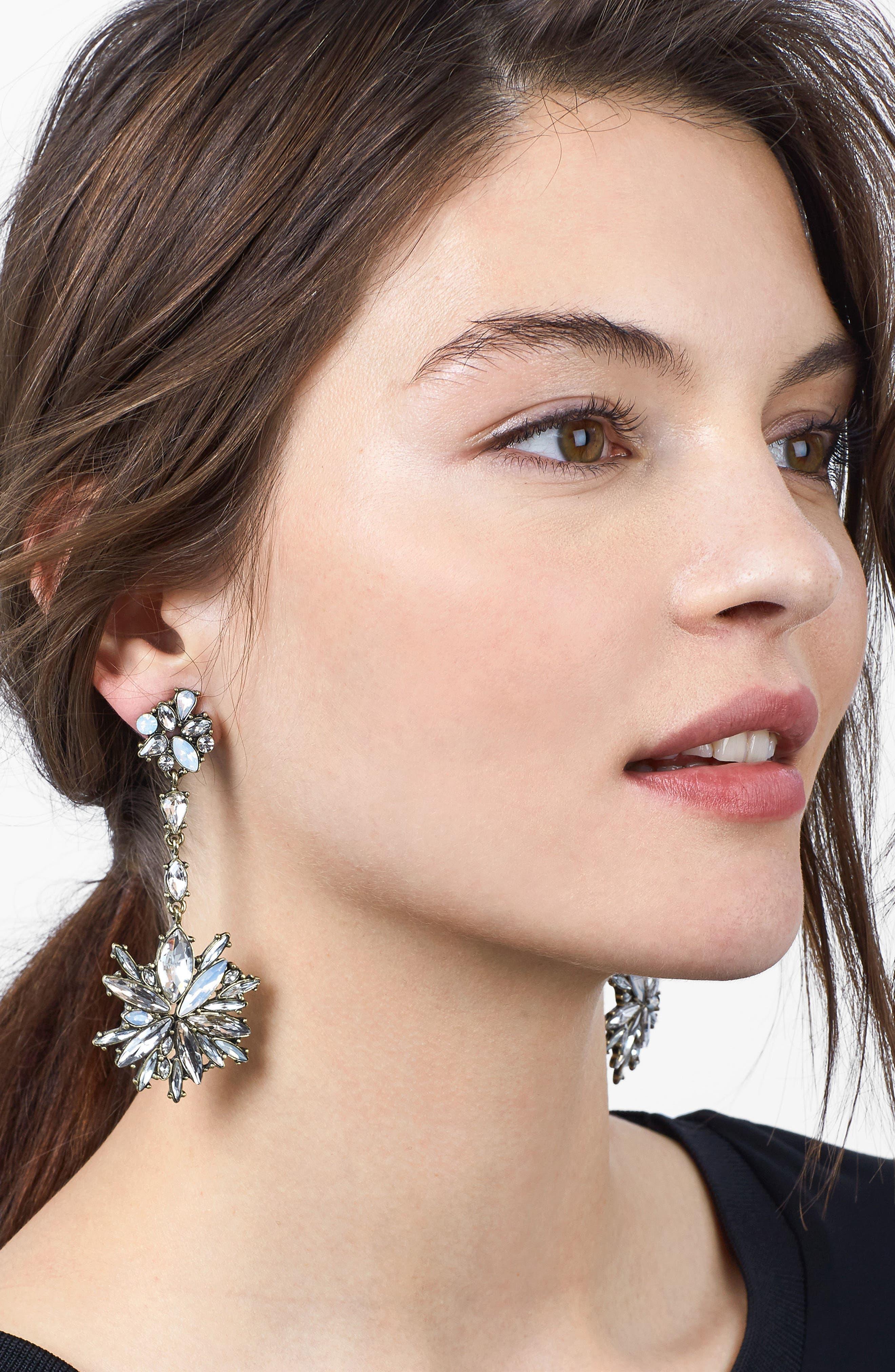 Icicle Drop Earrings,                             Alternate thumbnail 2, color,                             040