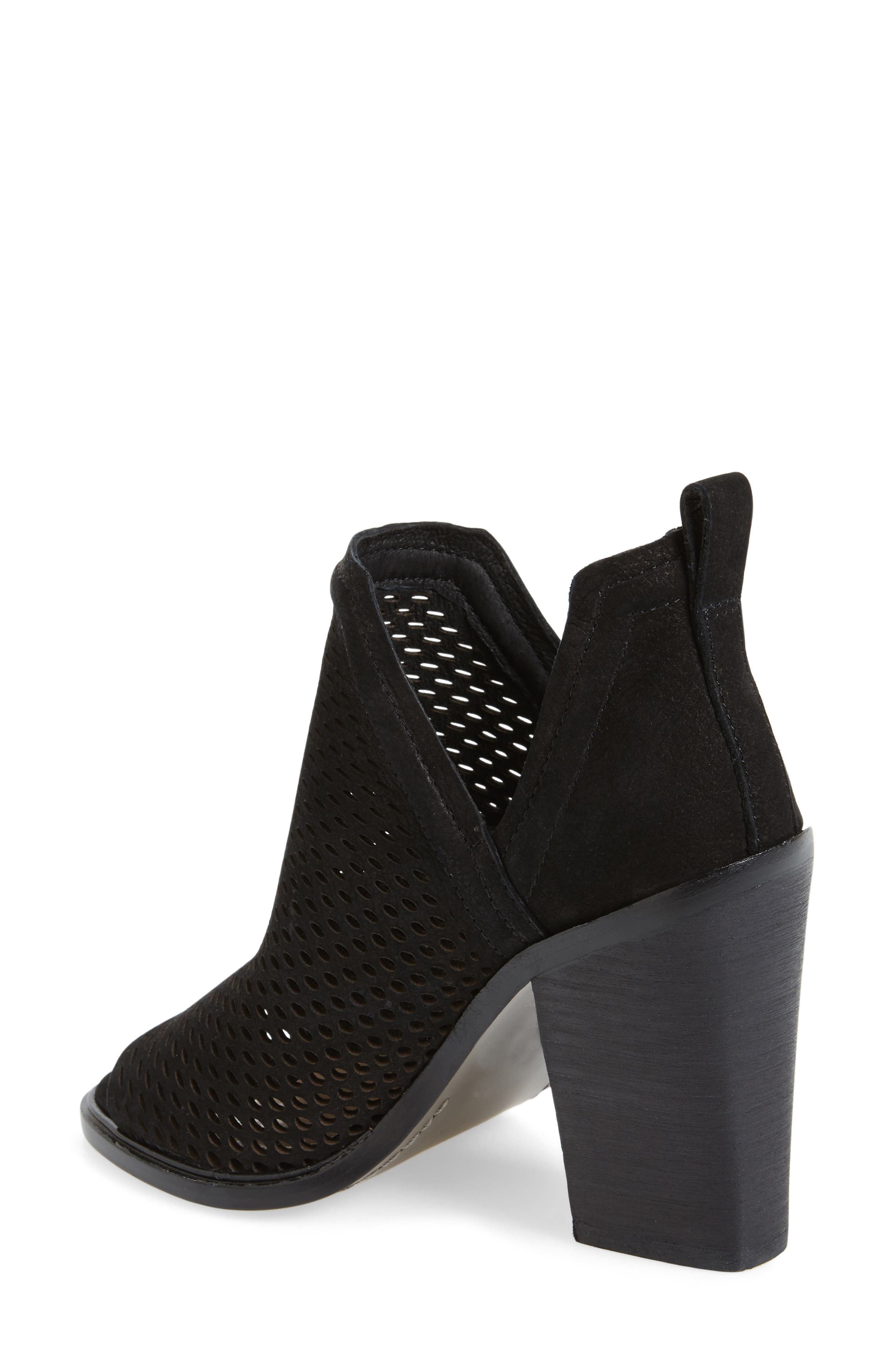 Kensa Peep Toe Bootie,                             Alternate thumbnail 2, color,                             001