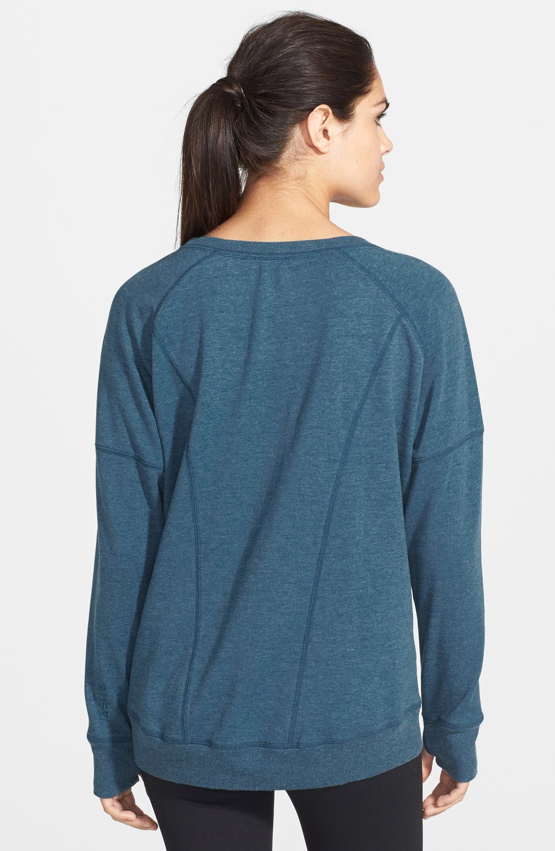 'Heart It' French Terry Sweatshirt,                             Alternate thumbnail 2, color,                             410