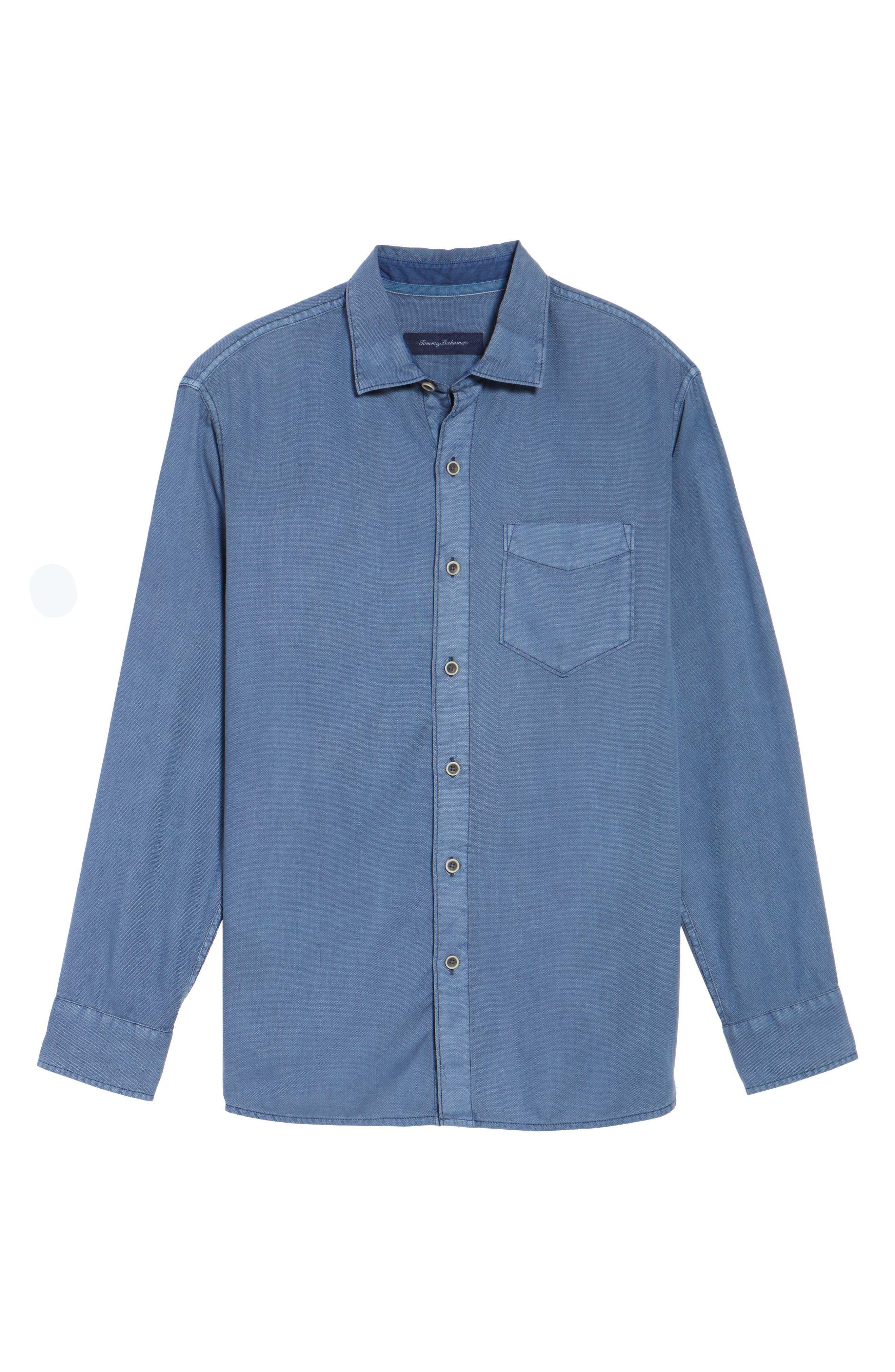 Dobby Dylan Sport Shirt,                             Alternate thumbnail 17, color,