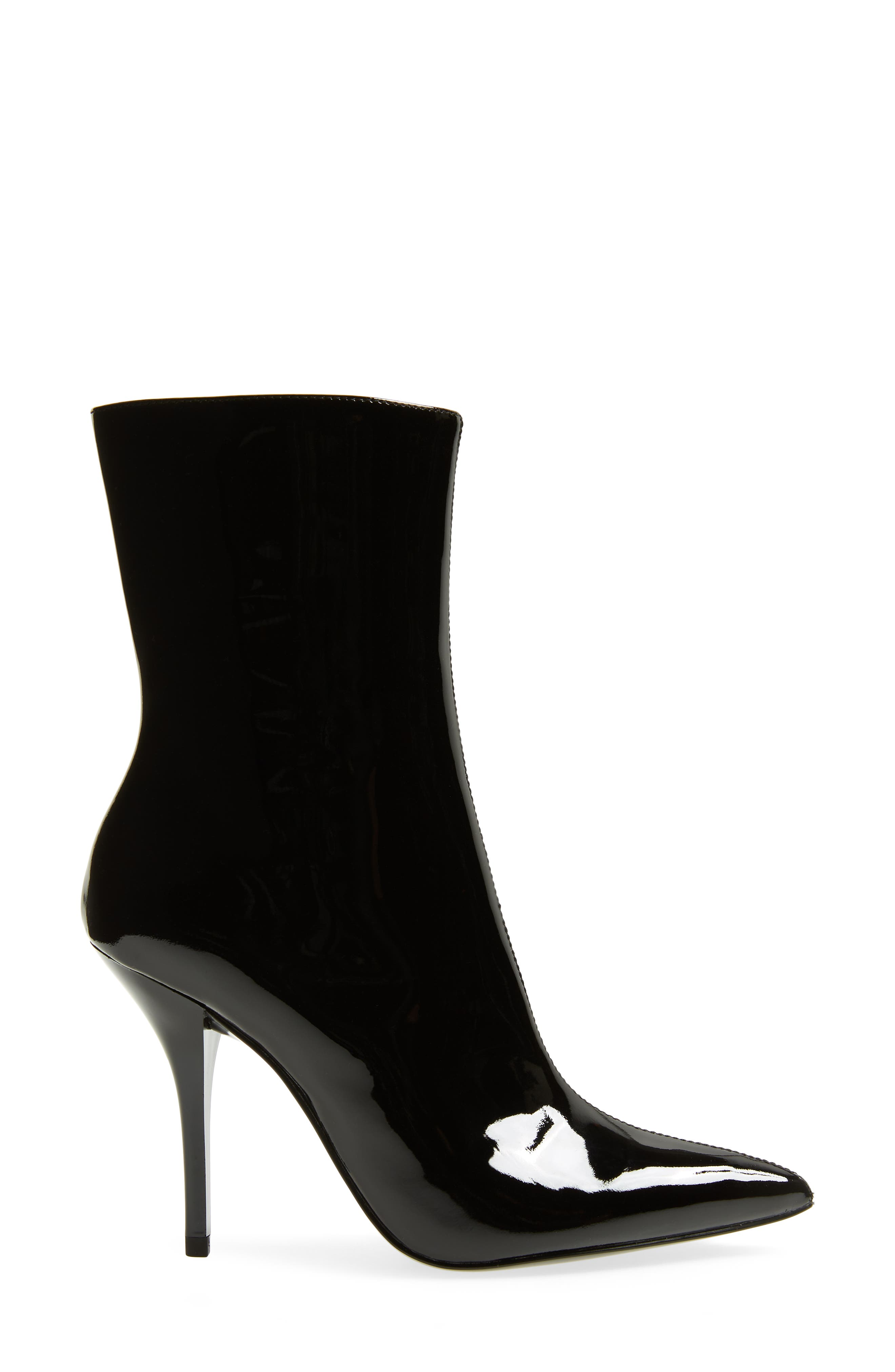Mada Bootie,                             Alternate thumbnail 3, color,                             BLACK PATENT LEATHER