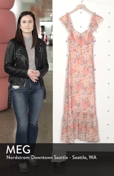 Valerie Blouson Midi Dress, sales video thumbnail