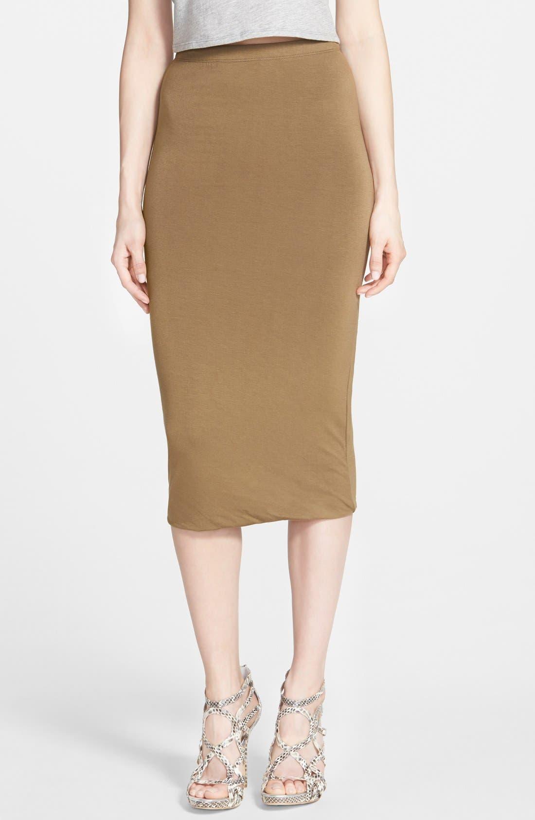 Double Layered Tube Skirt,                             Main thumbnail 5, color,