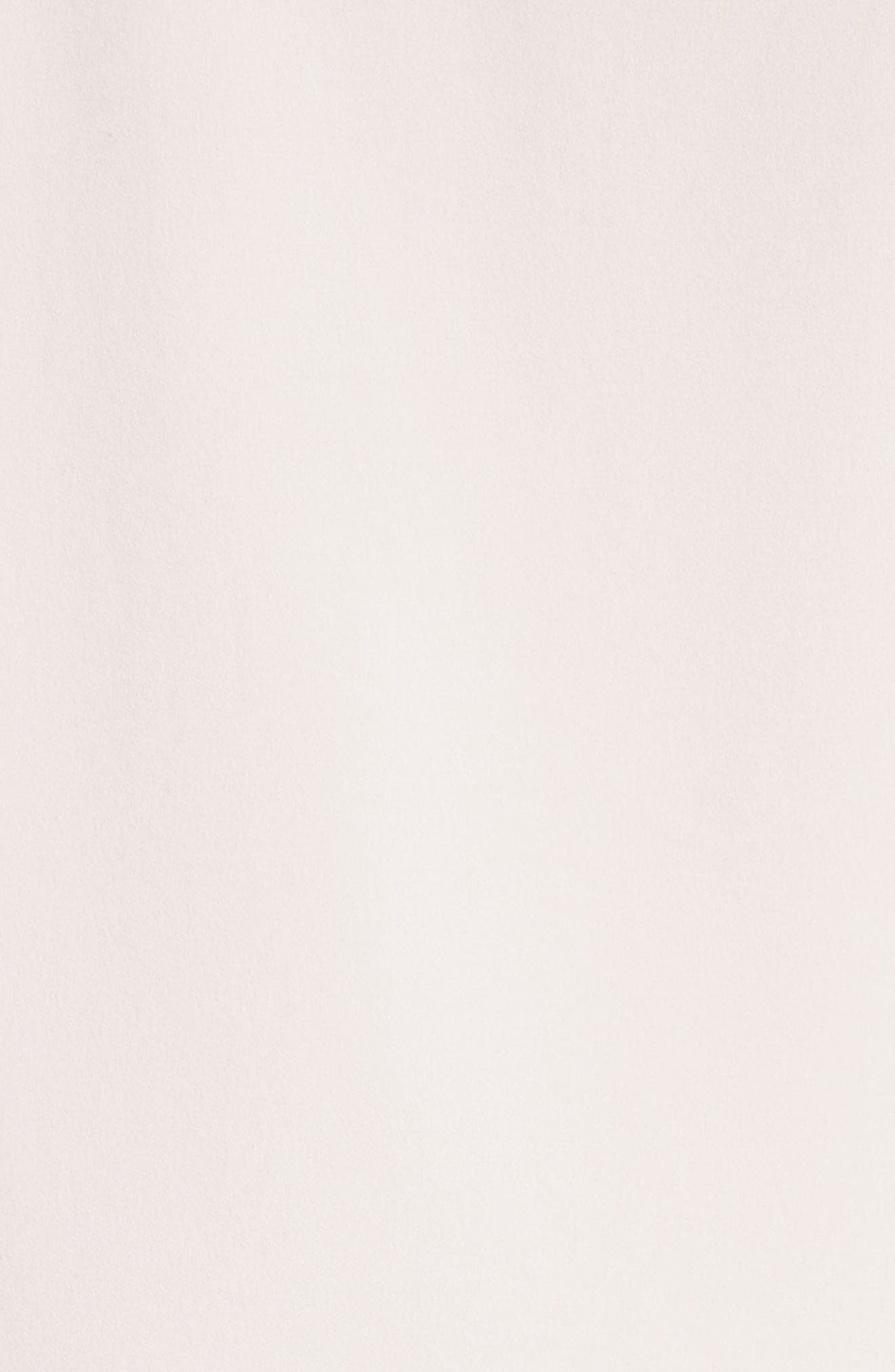 Ruffle Satin Back Crepe Top,                             Alternate thumbnail 5, color,                             690