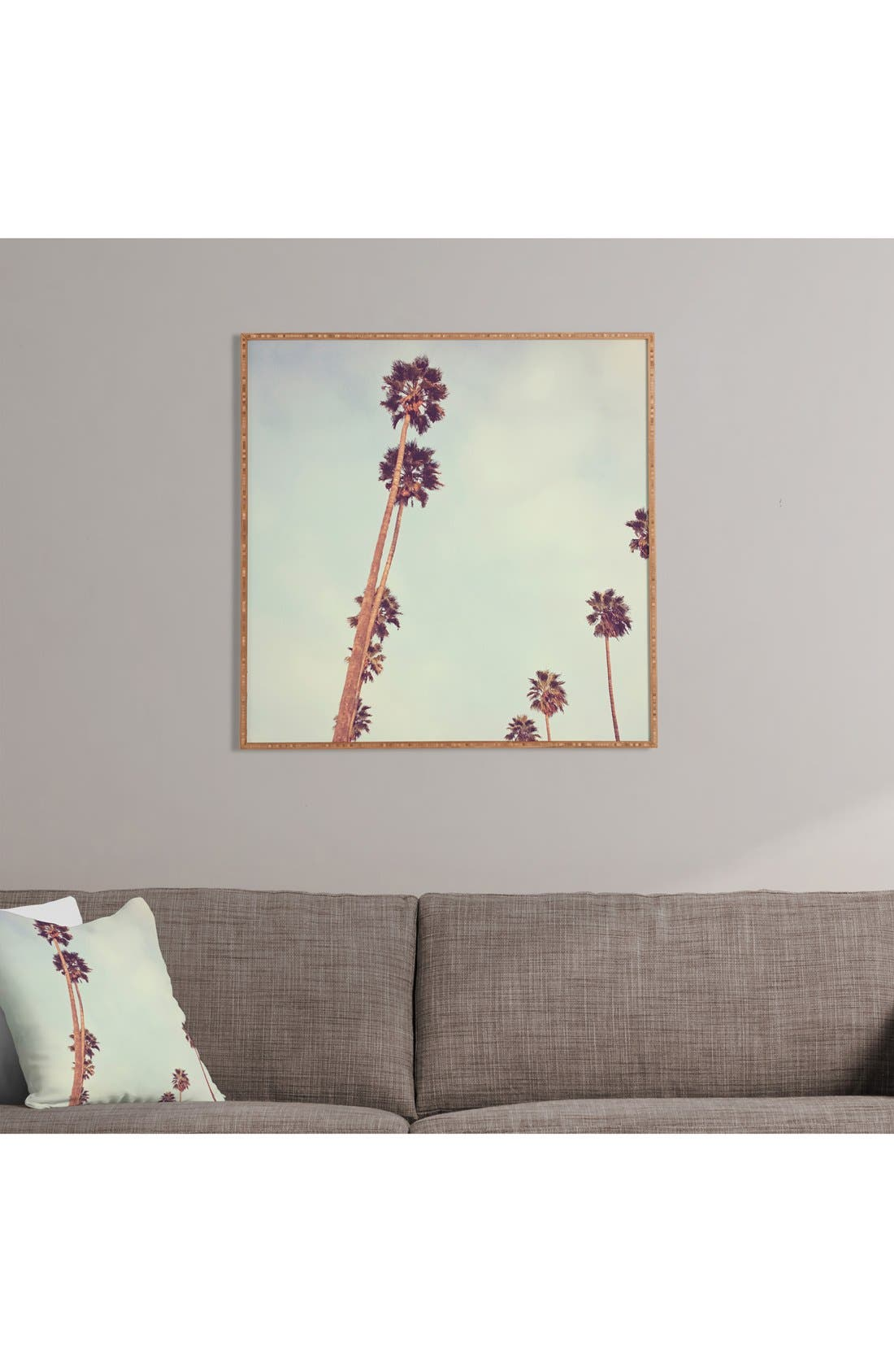 'Catherine McDonald - Streets of Los Angeles' Framed Wall Art,                             Alternate thumbnail 2, color,