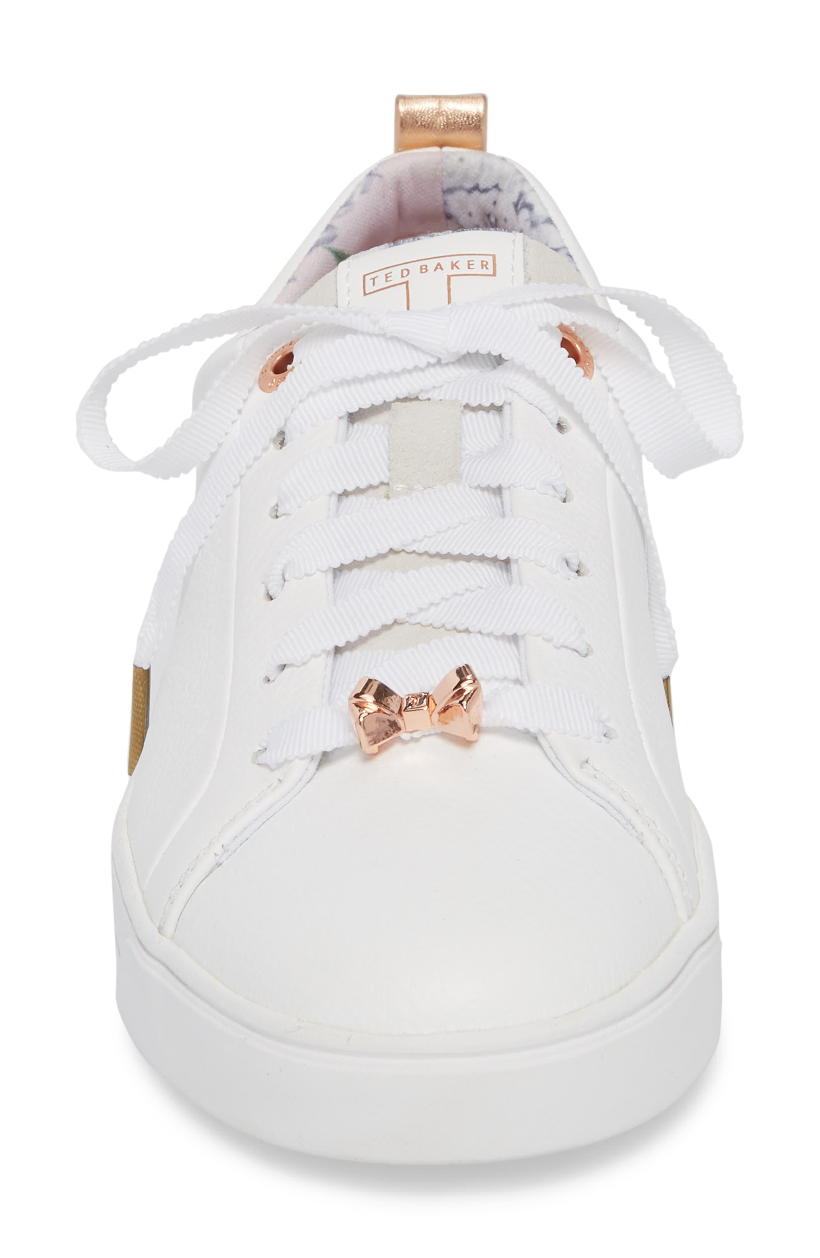 Kelleip Sneaker,                             Alternate thumbnail 4, color,                             PALACE GARDENS PRINT LEATHER
