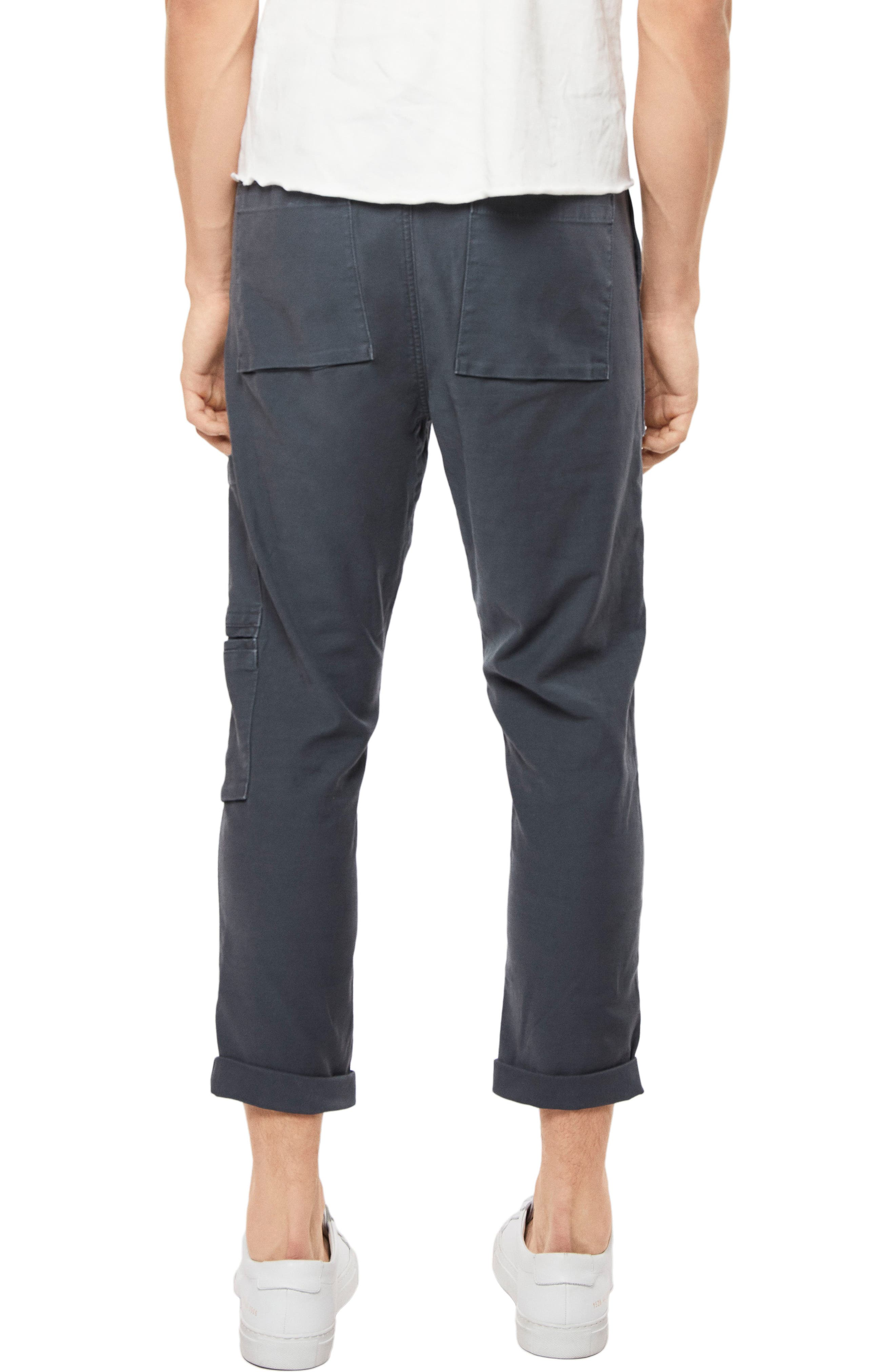Koeficient Relaxed Fit Cargo Crop Pants,                             Alternate thumbnail 2, color,                             400