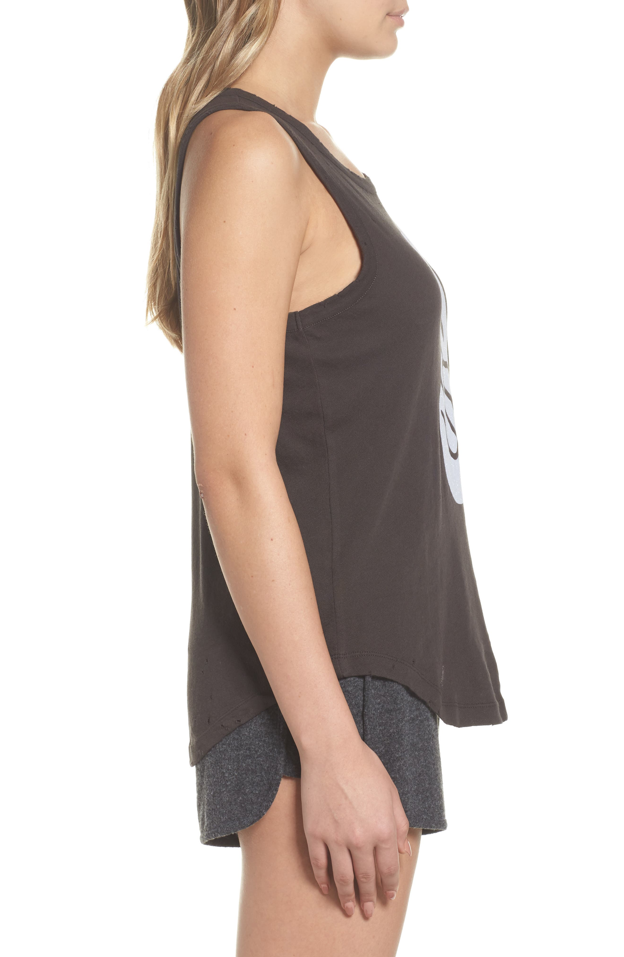 Destroyed Muscle Tank,                             Alternate thumbnail 3, color,