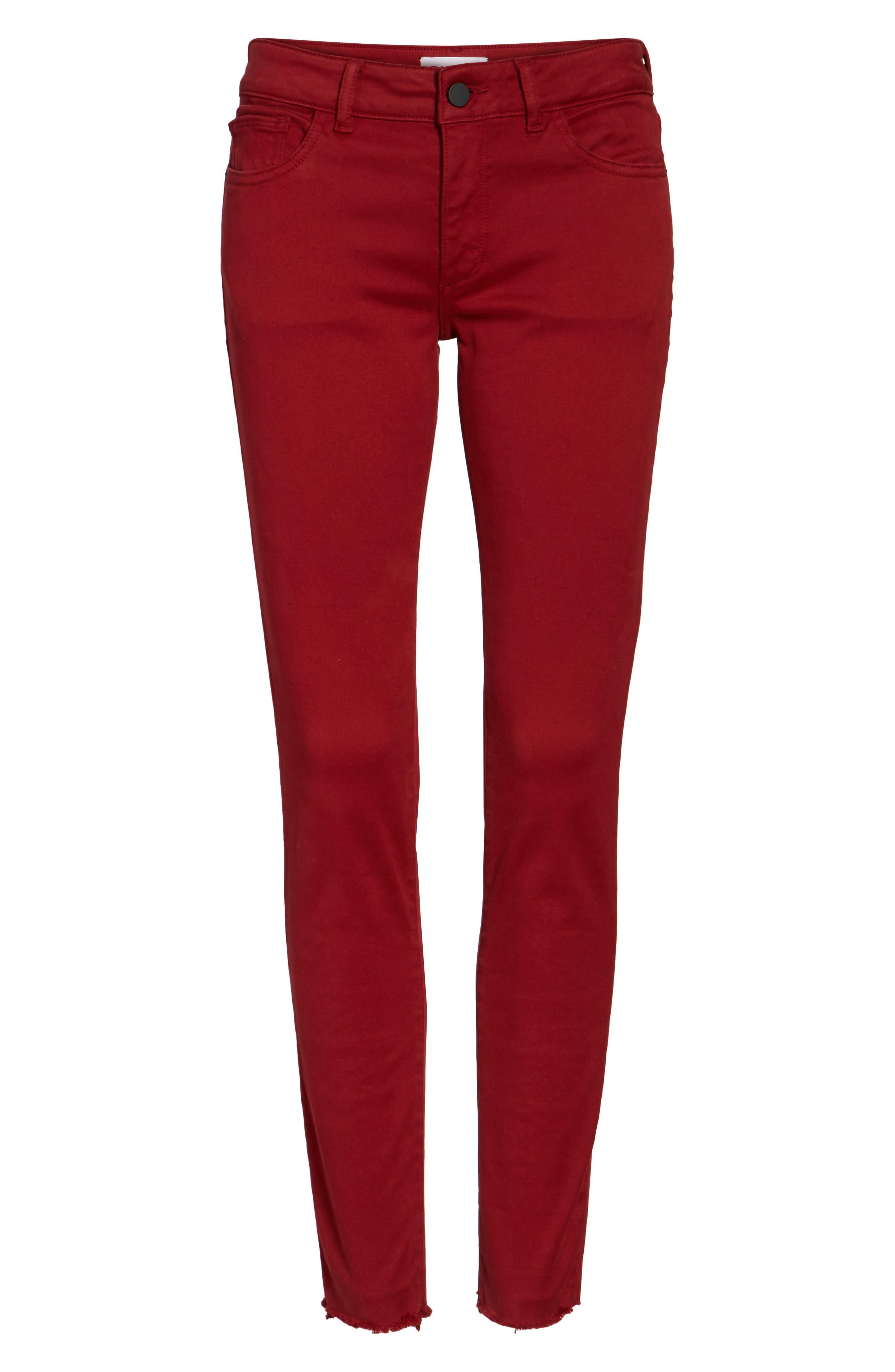 Emma Power Legging Jeans,                             Alternate thumbnail 6, color,                             609