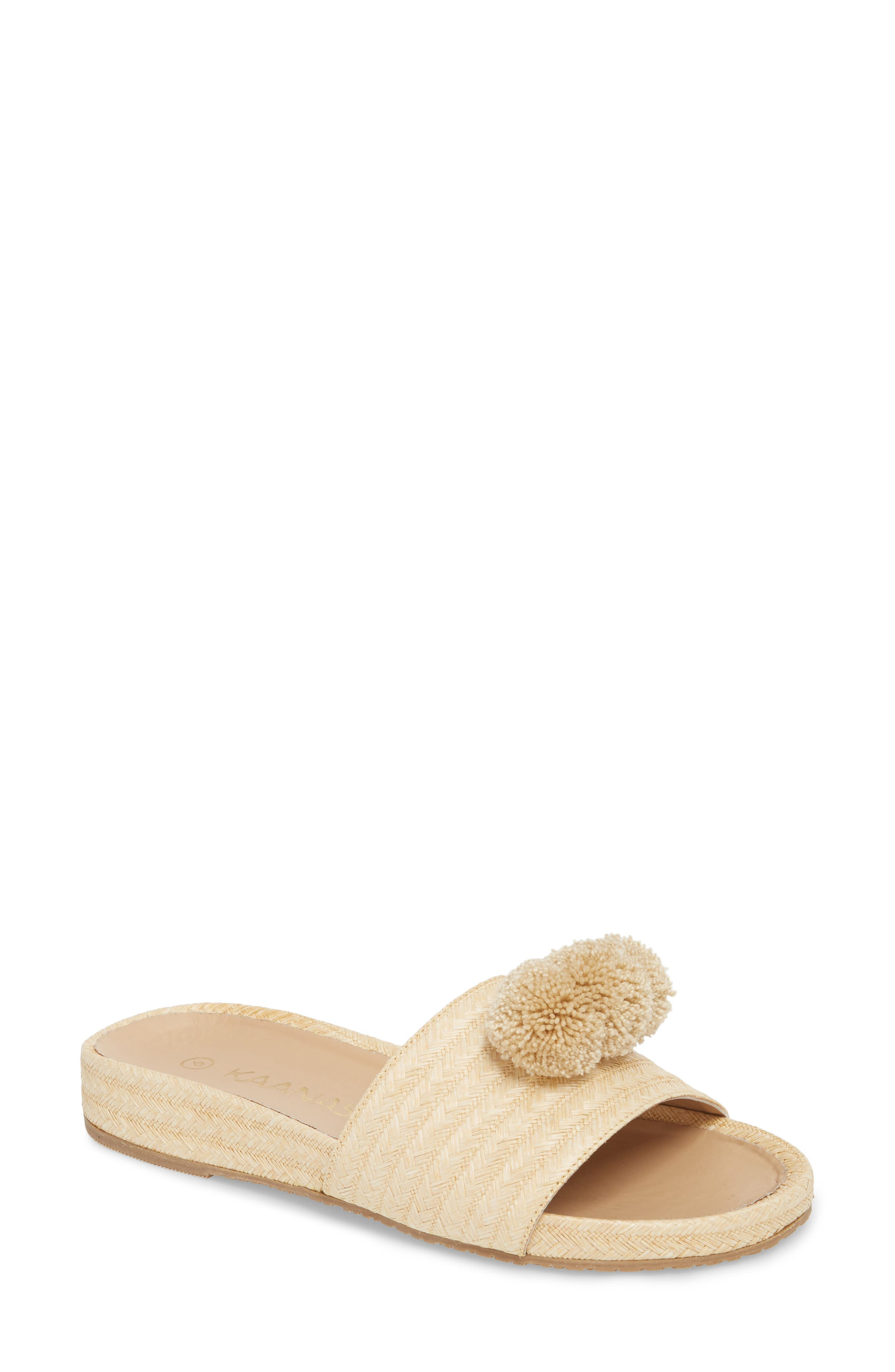 Santa Cruz Pom Slide Sandal,                             Main thumbnail 1, color,
