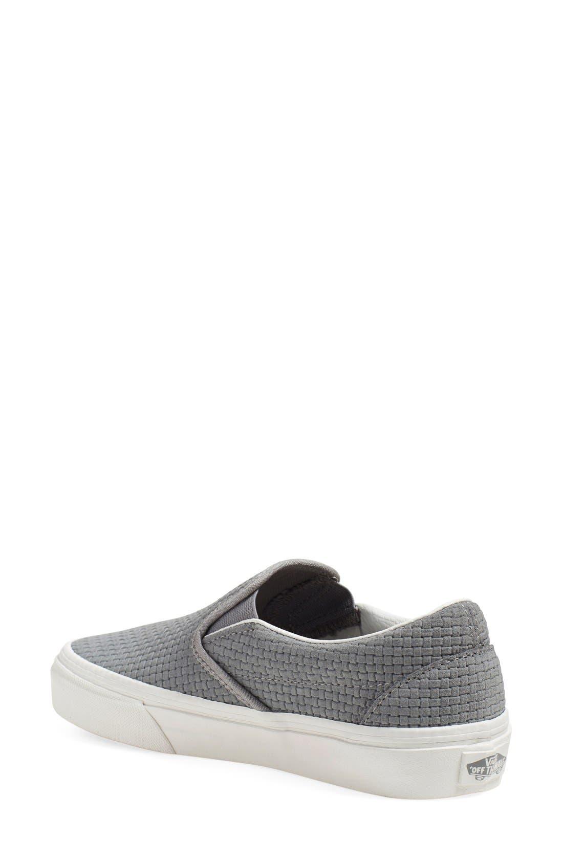 Classic Slip-On Sneaker,                             Alternate thumbnail 136, color,