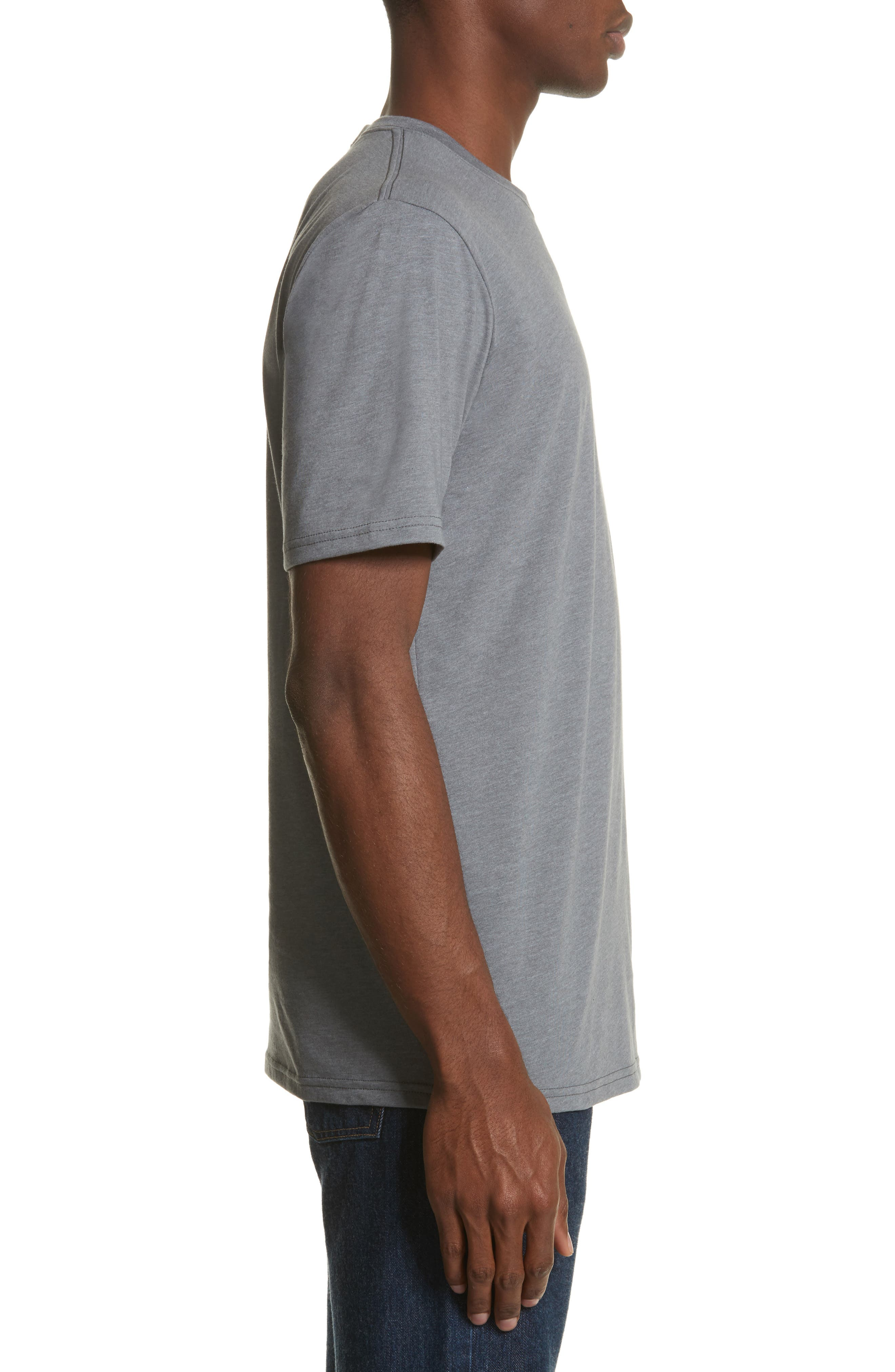 Unisex Pocket T-Shirt,                             Alternate thumbnail 3, color,                             030