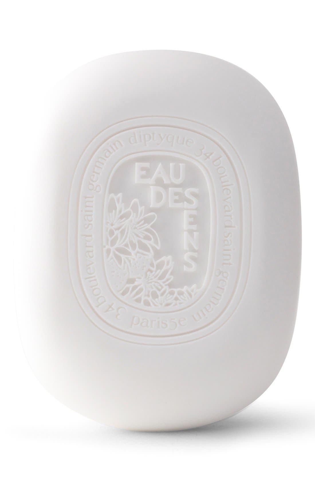Eau des Sens Soap,                             Main thumbnail 1, color,                             NO COLOR