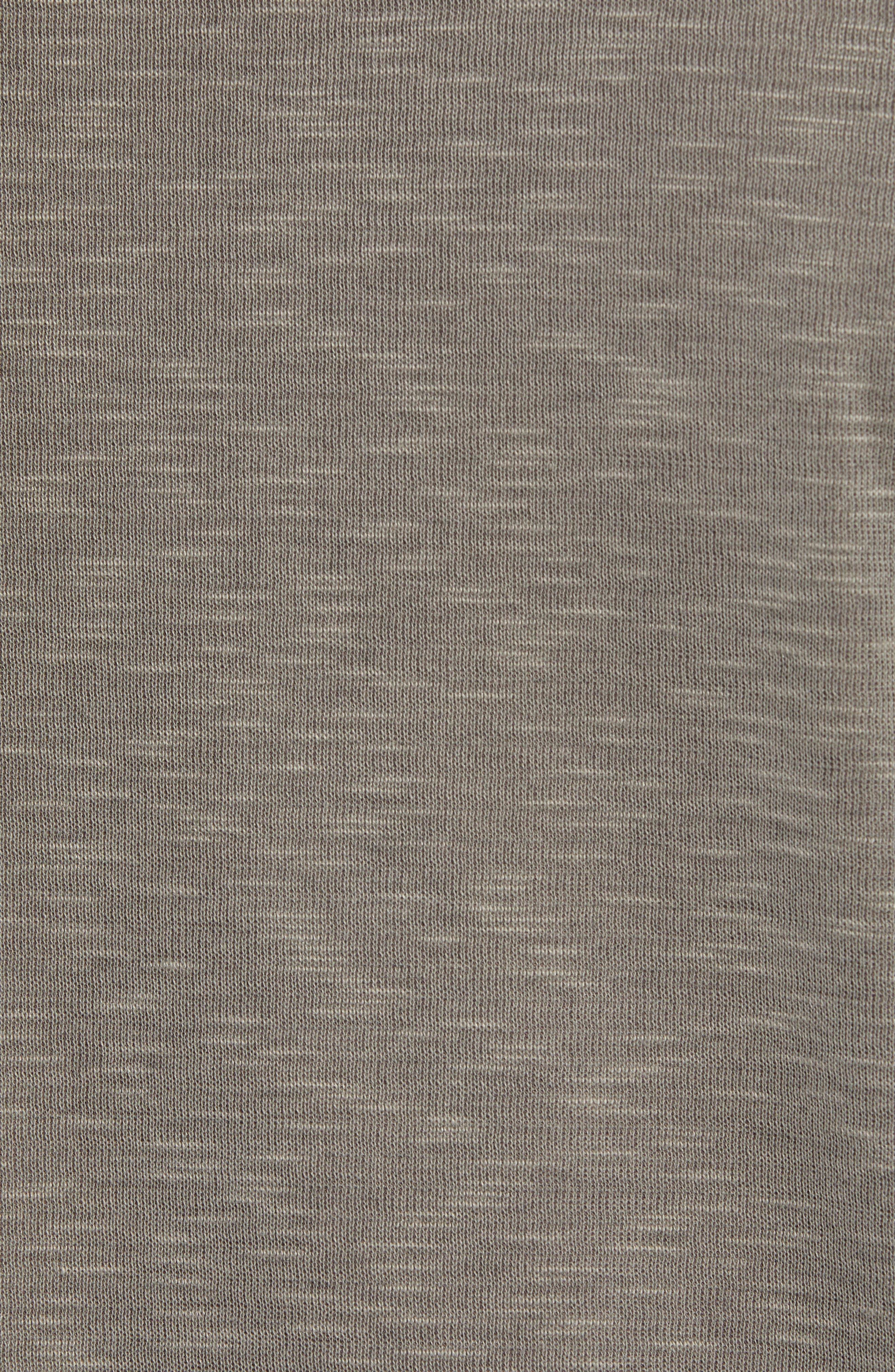 Flip Tide Standard Fit T-Shirt,                             Alternate thumbnail 6, color,                             BITTERSWEET CHOCOLATE