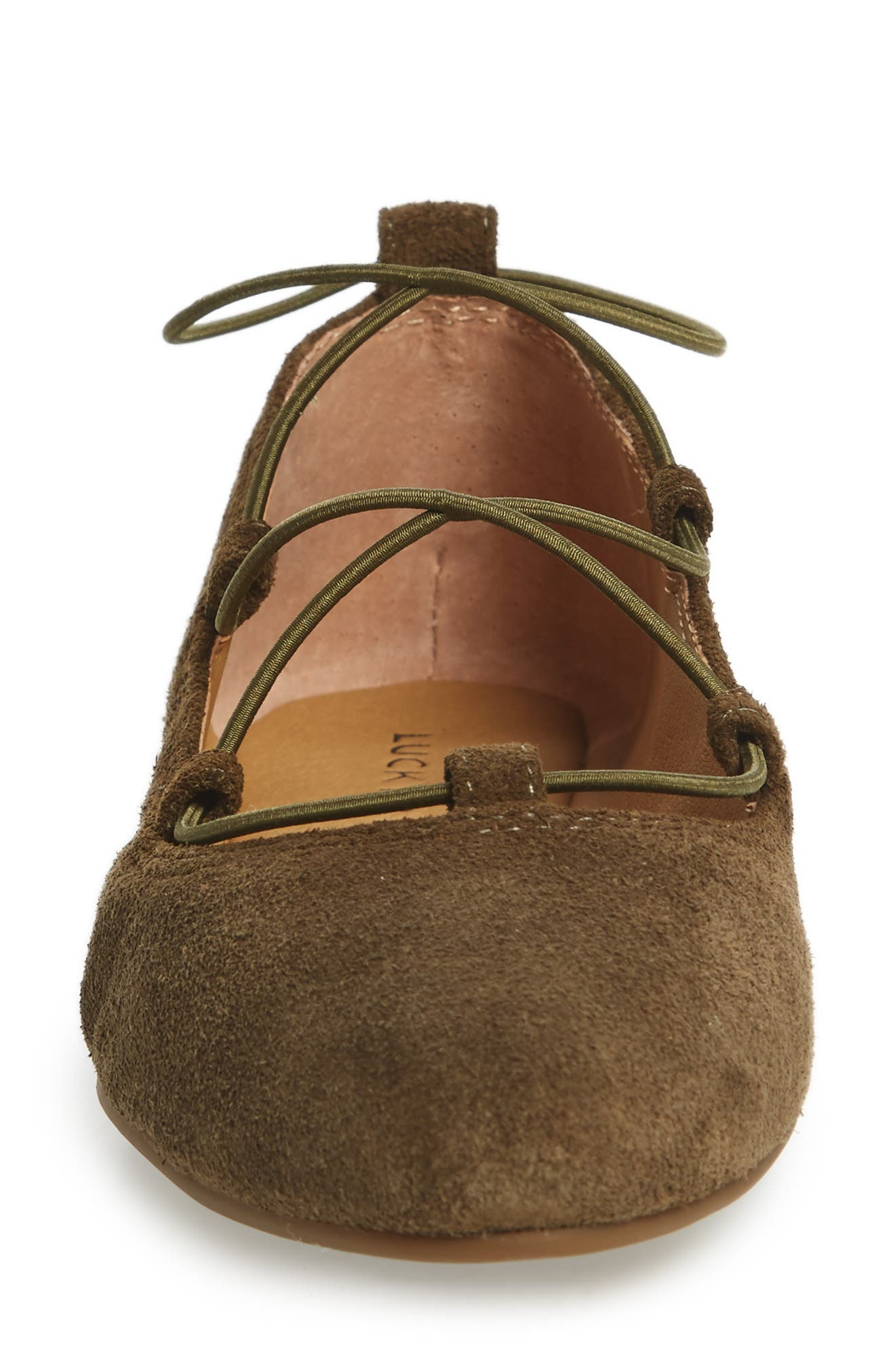 'Aviee' Lace-Up Flat,                             Alternate thumbnail 35, color,