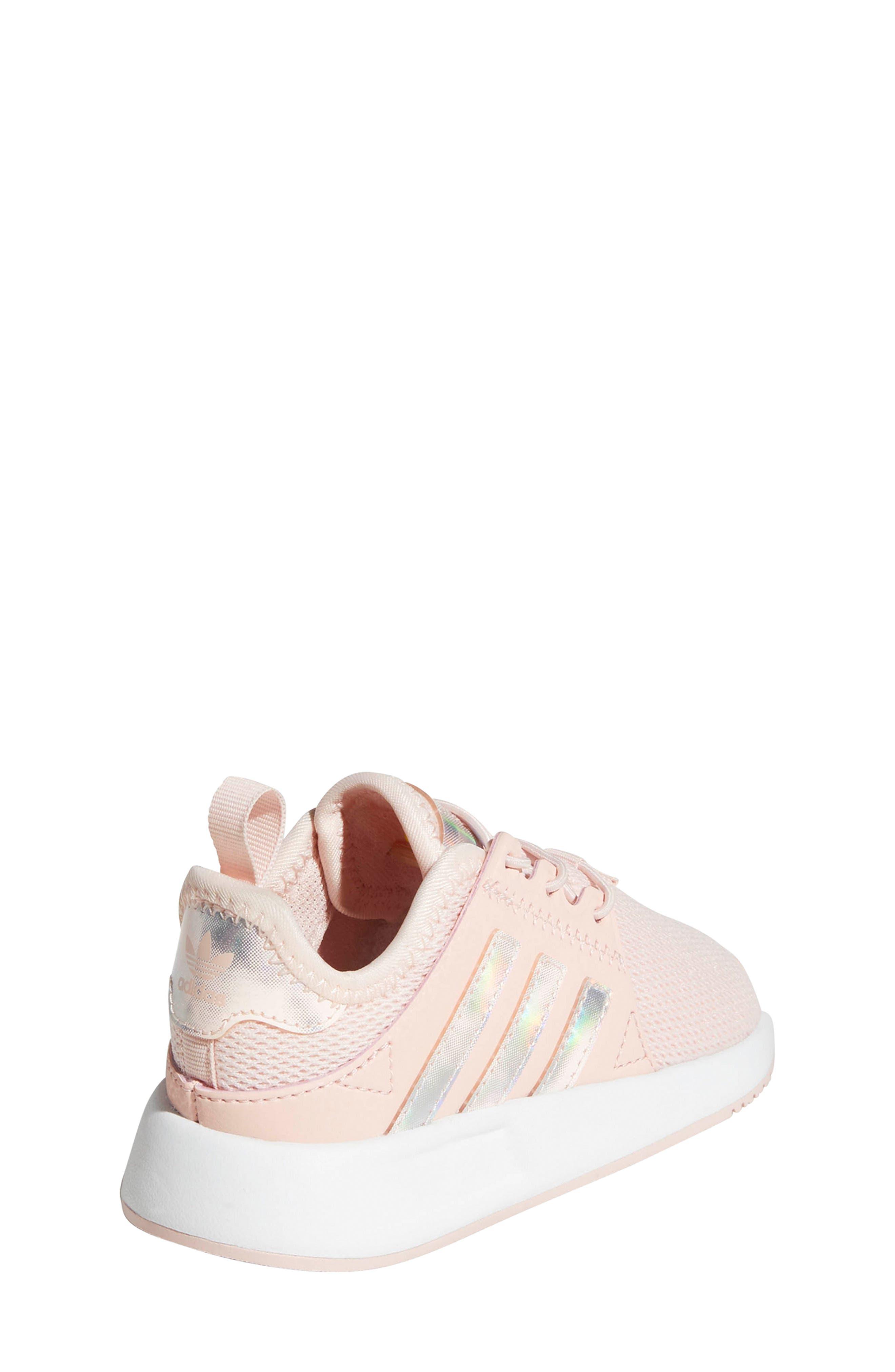 X_PLR Sneaker,                             Alternate thumbnail 2, color,                             ICE PINK/ WHITE
