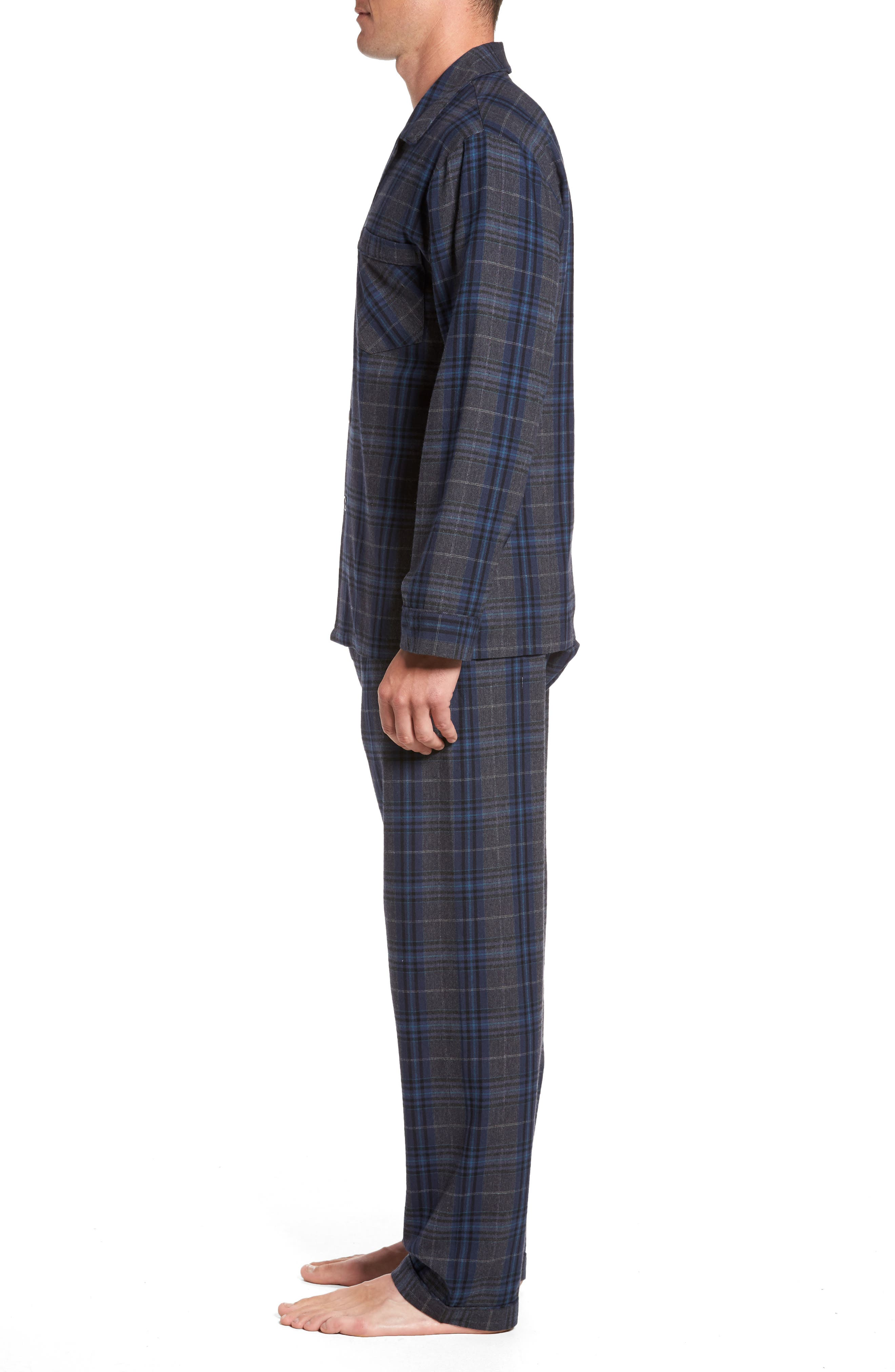 Bryson Plaid Pajama Set,                             Alternate thumbnail 8, color,