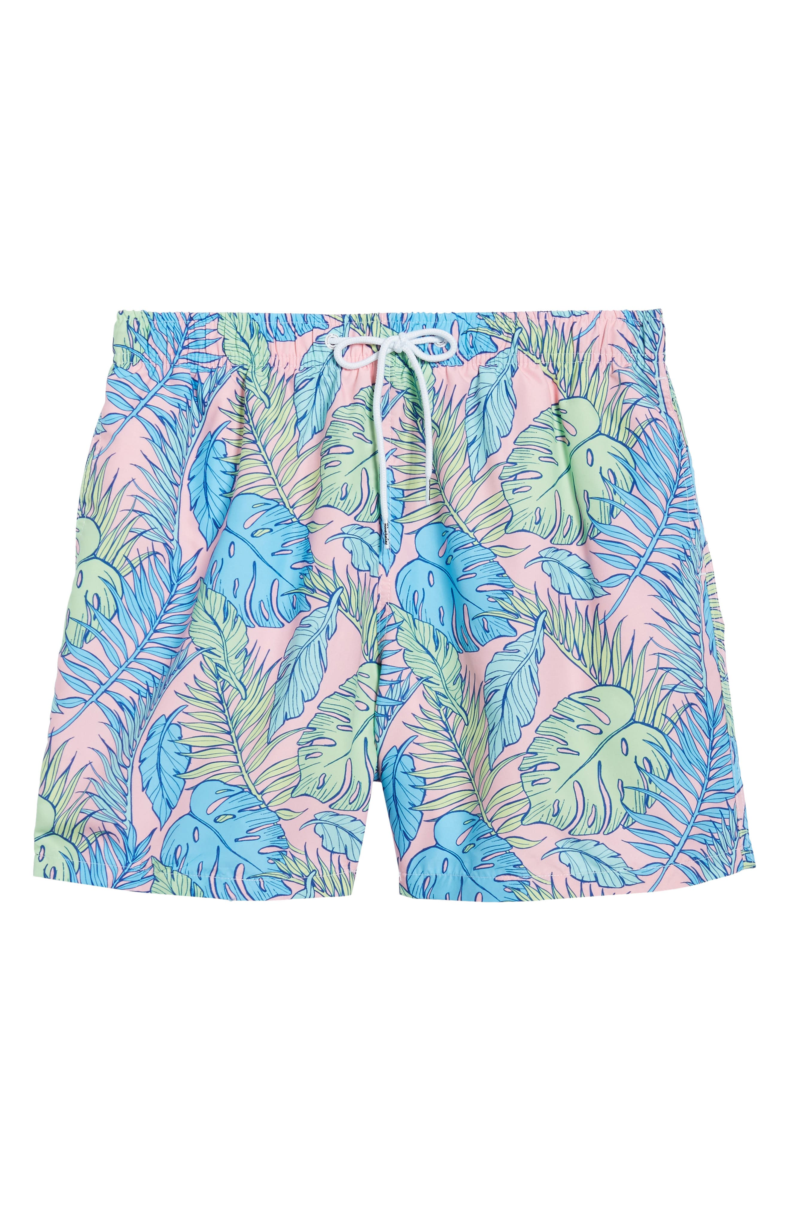 Palmtopia Swim Shorts,                             Alternate thumbnail 6, color,                             MULTI