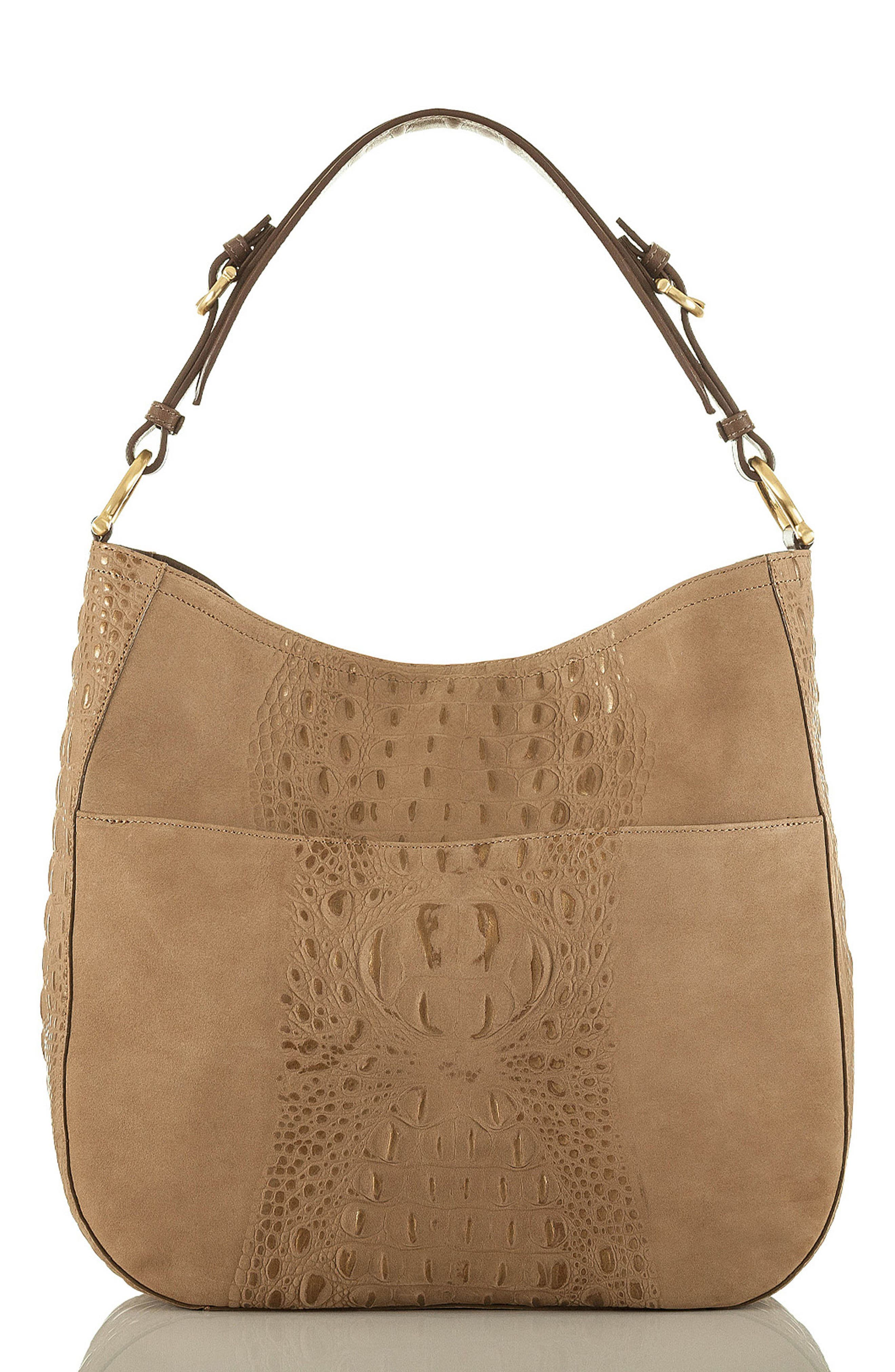 Southcoast Eva Croc-Embossed Leather Tote,                             Alternate thumbnail 2, color,                             710