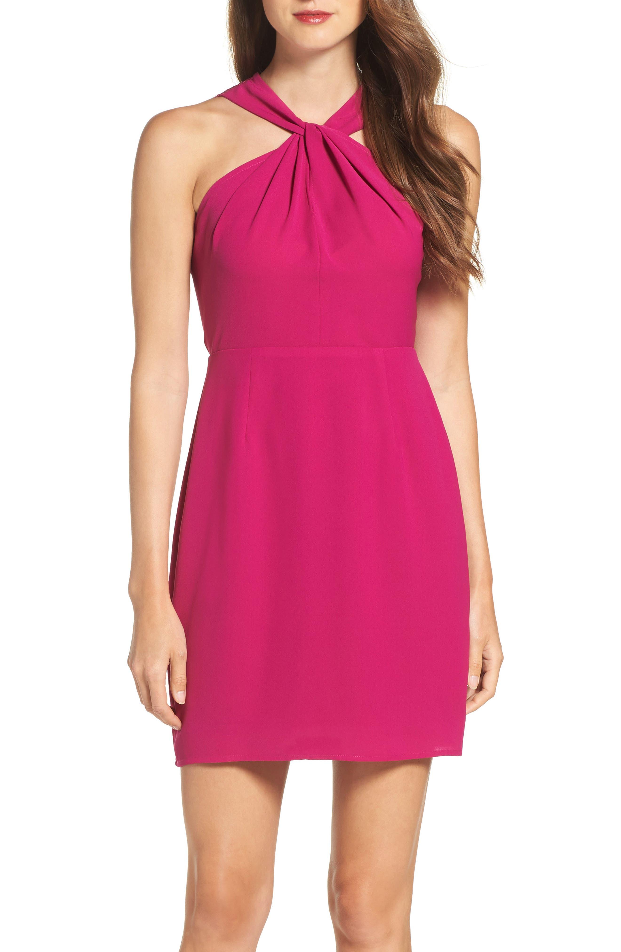 Lace Back Sheath Dress,                             Alternate thumbnail 10, color,
