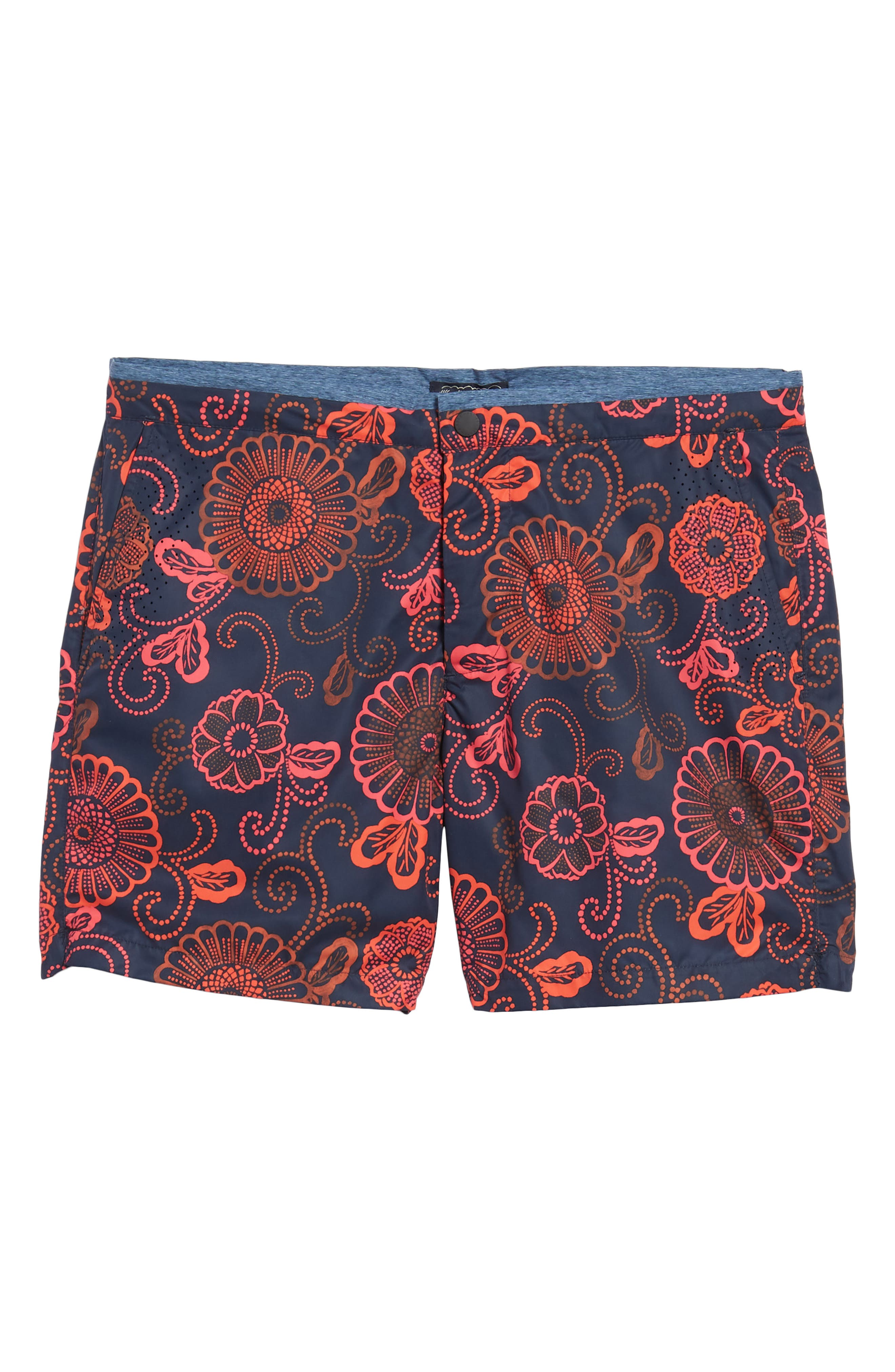 Print Mélange Board Shorts,                             Alternate thumbnail 16, color,