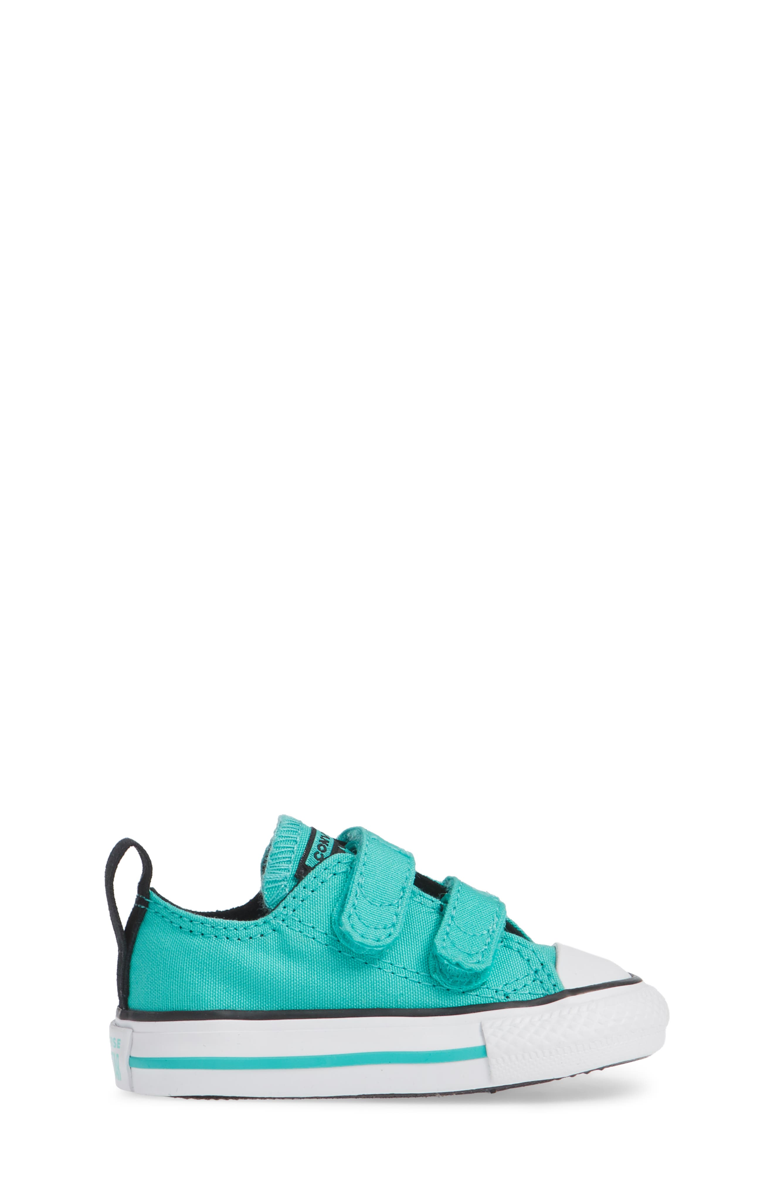 Chuck Taylor<sup>®</sup> 'Double Strap' Sneaker,                             Alternate thumbnail 3, color,                             PURE TEAL