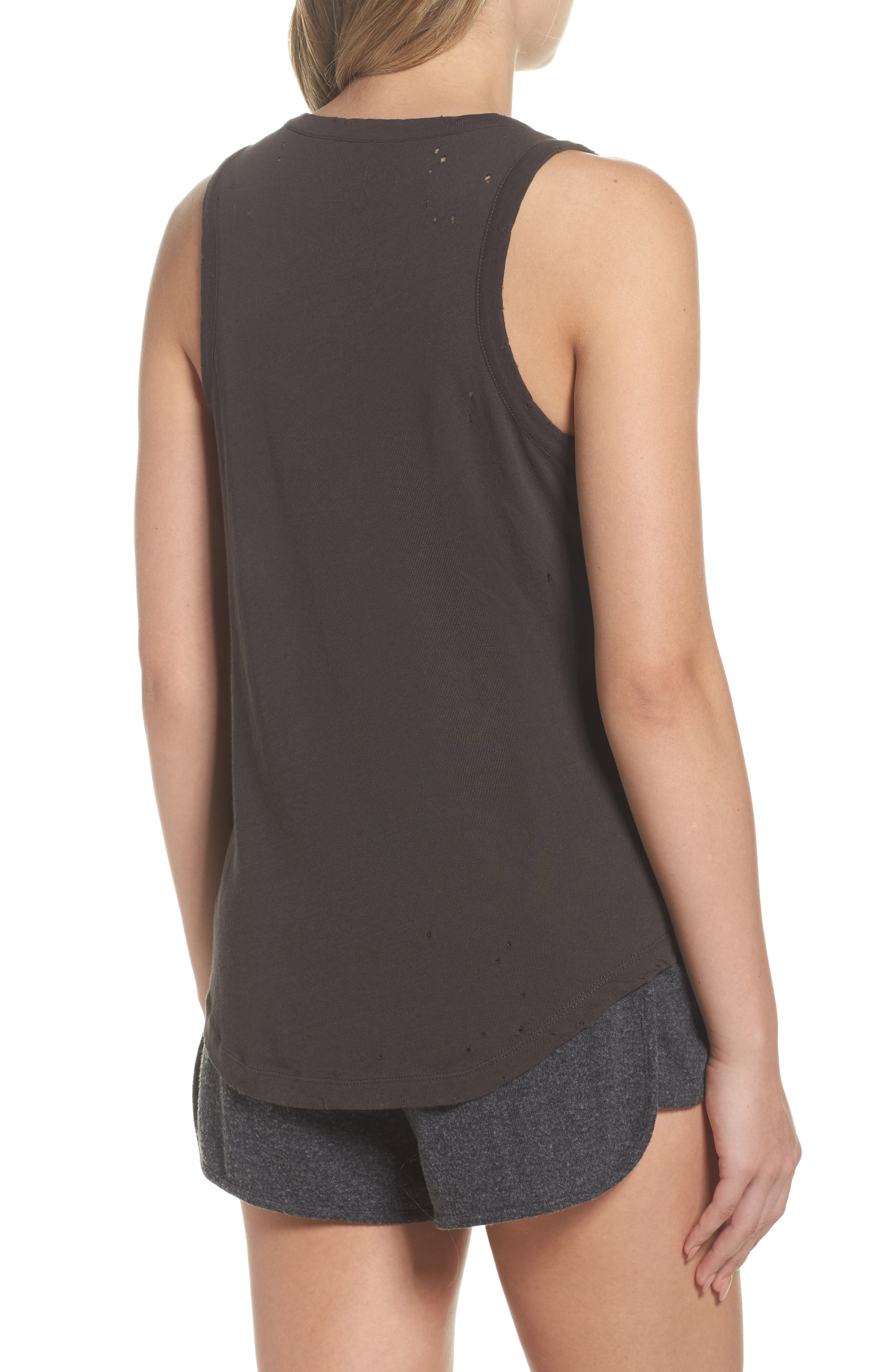 Destroyed Muscle Tank,                             Alternate thumbnail 2, color,