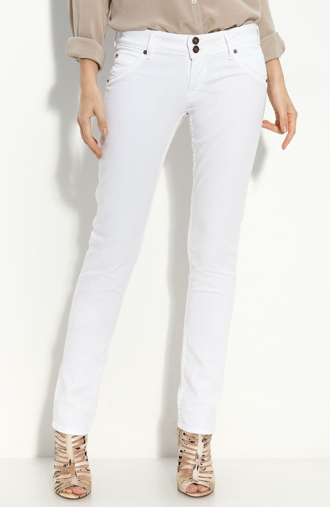 Skinny Stretch Jeans,                             Alternate thumbnail 2, color,                             100