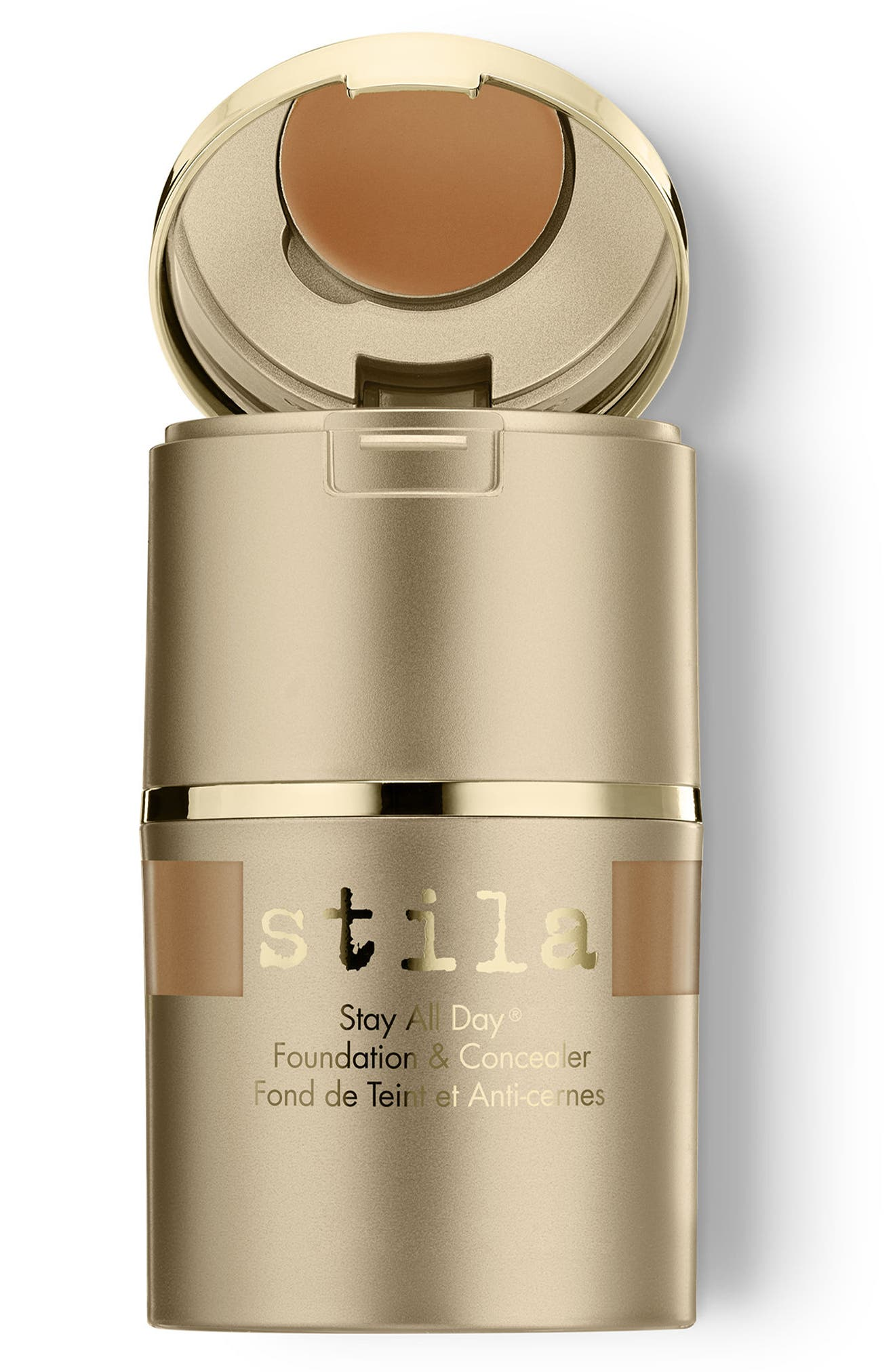 Stay All Day<sup>®</sup> Foundation & Concealer,                             Main thumbnail 1, color,                             STAY AD FOUND CONC CARAMEL 12