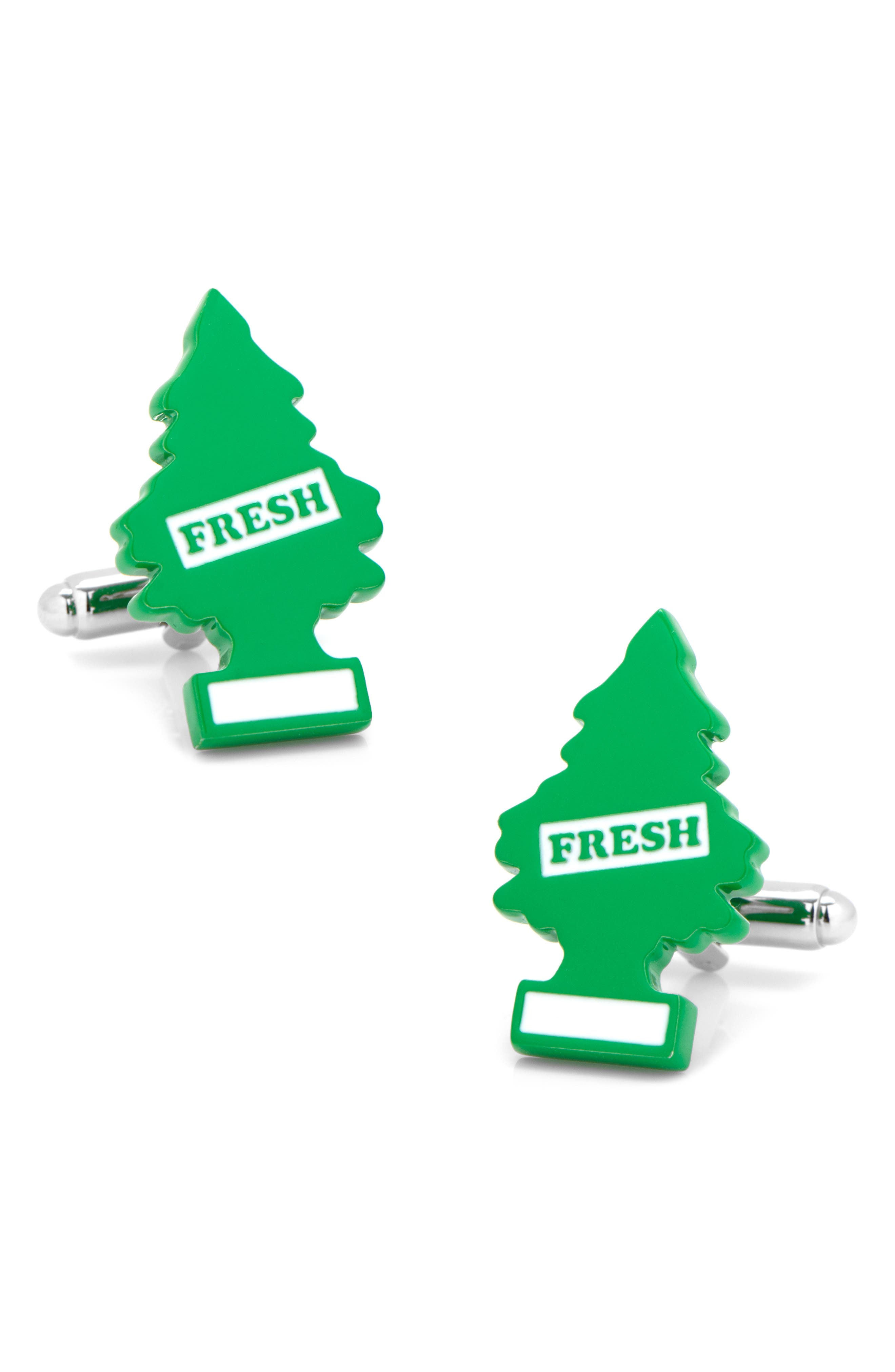 Air Freshener Cuff Links,                         Main,                         color, GREEN