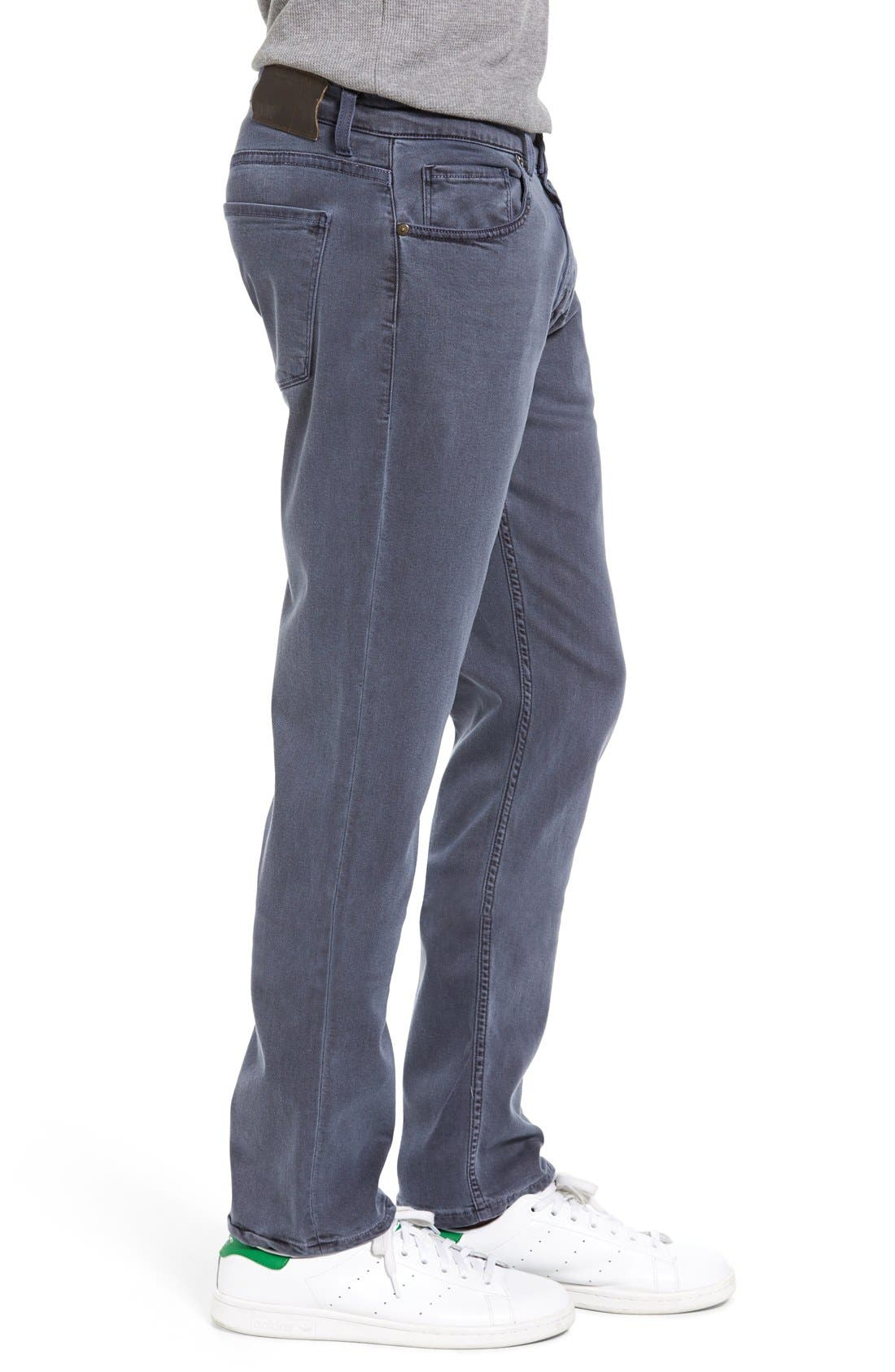 Transcend - Federal Slim Straight Leg Jeans,                             Alternate thumbnail 4, color,                             VINTAGE NAVY