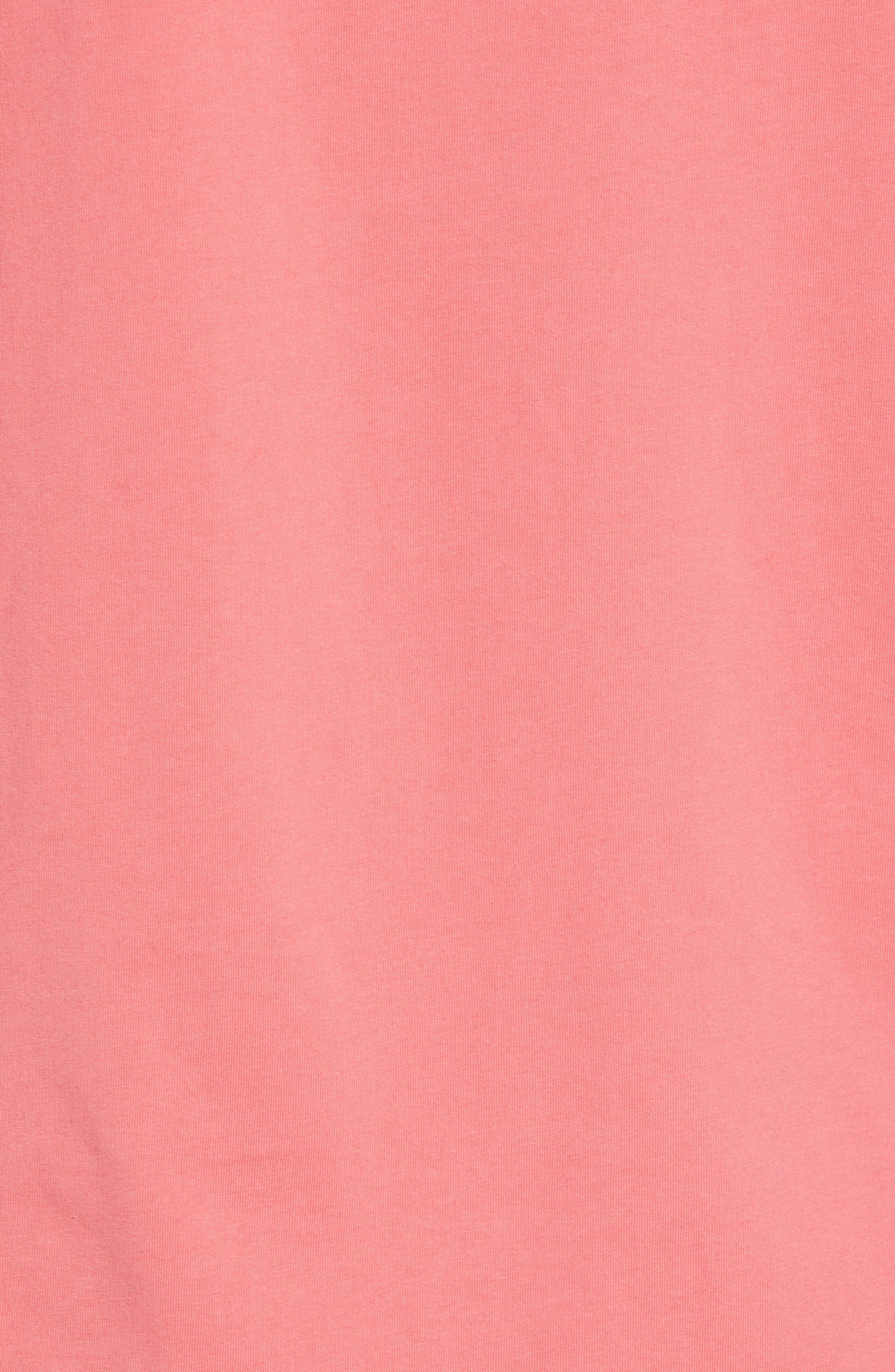 Knockout Lacrosse Pocket T-Shirt,                             Alternate thumbnail 5, color,                             SAILORS RED